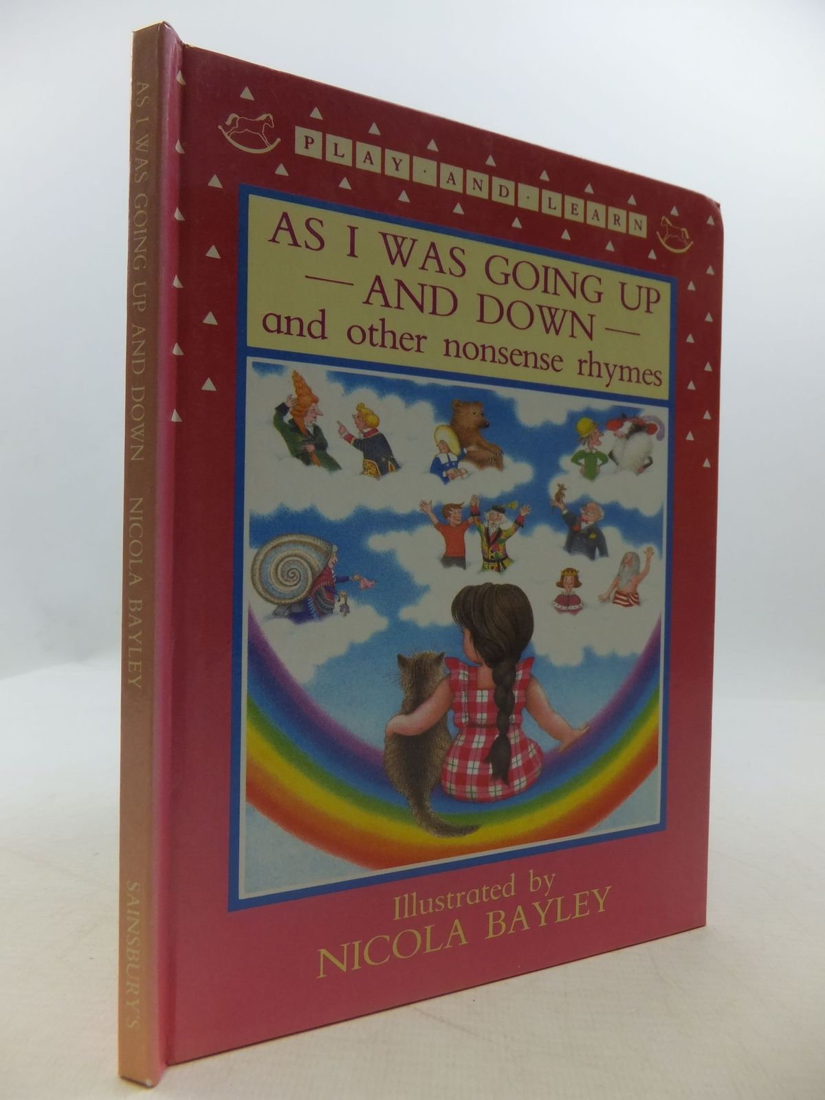 Photo of AS I WAS GOING UP AND DOWN AND OTHER NONSENSE RHYMES illustrated by Bayley, Nicola published by Walker Books (STOCK CODE: 2111599)  for sale by Stella & Rose's Books