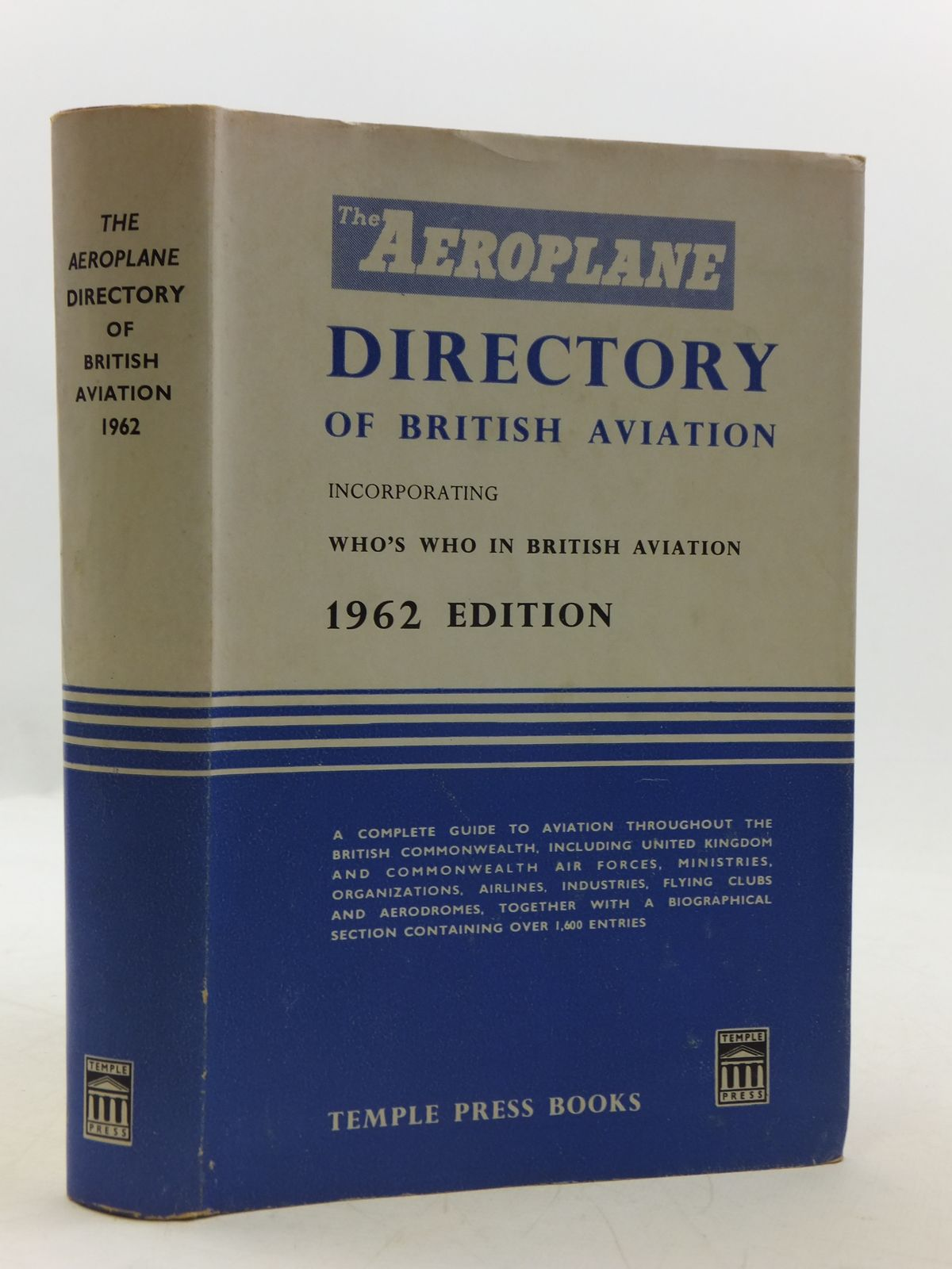 Photo of THE AEROPLANE DIRECTORY OF BRITISH AVIATION published by Temple Press Books (STOCK CODE: 2111719)  for sale by Stella & Rose's Books