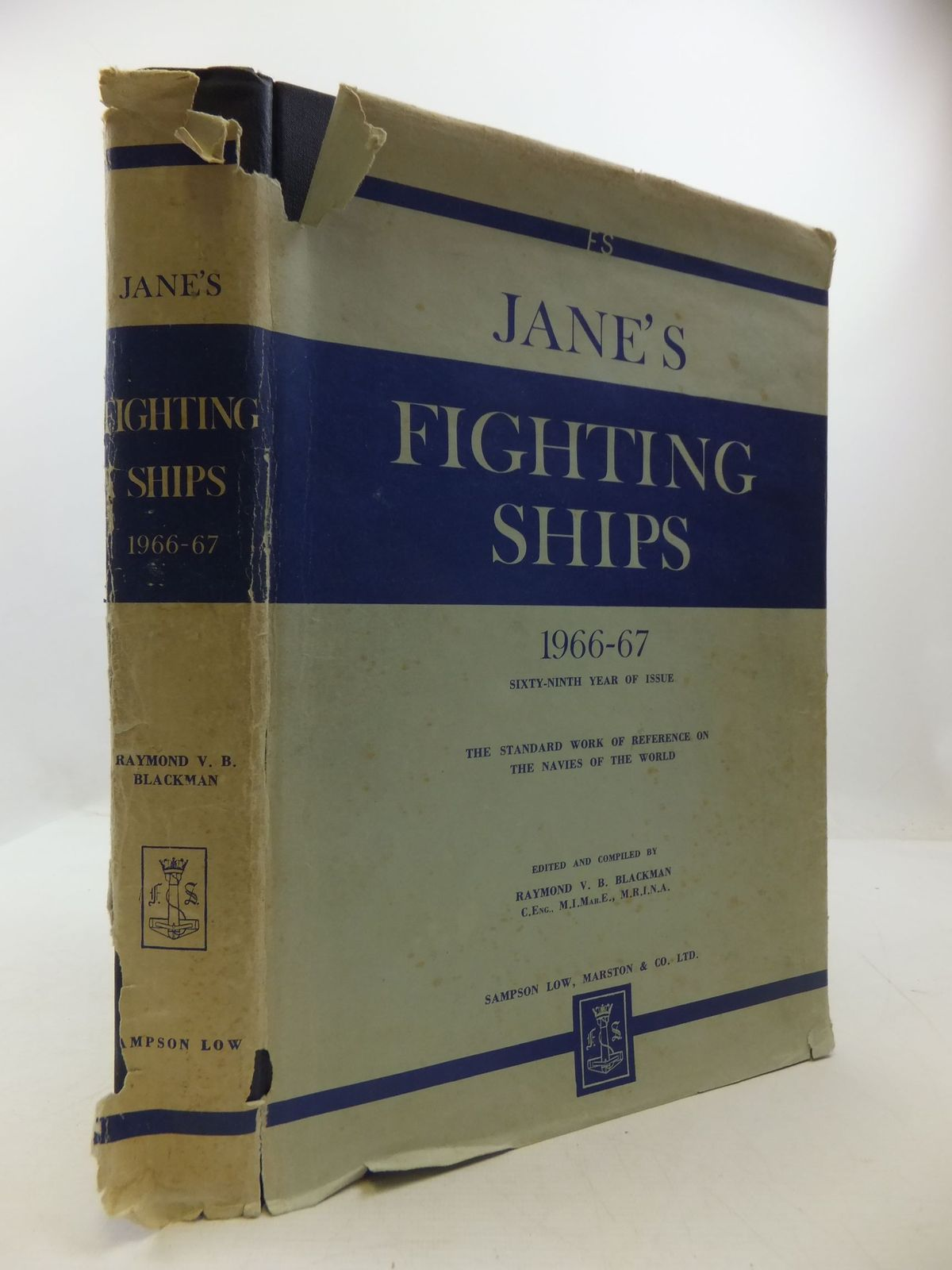 Photo of JANE'S FIGHTING SHIPS 1966-67- Stock Number: 2111739