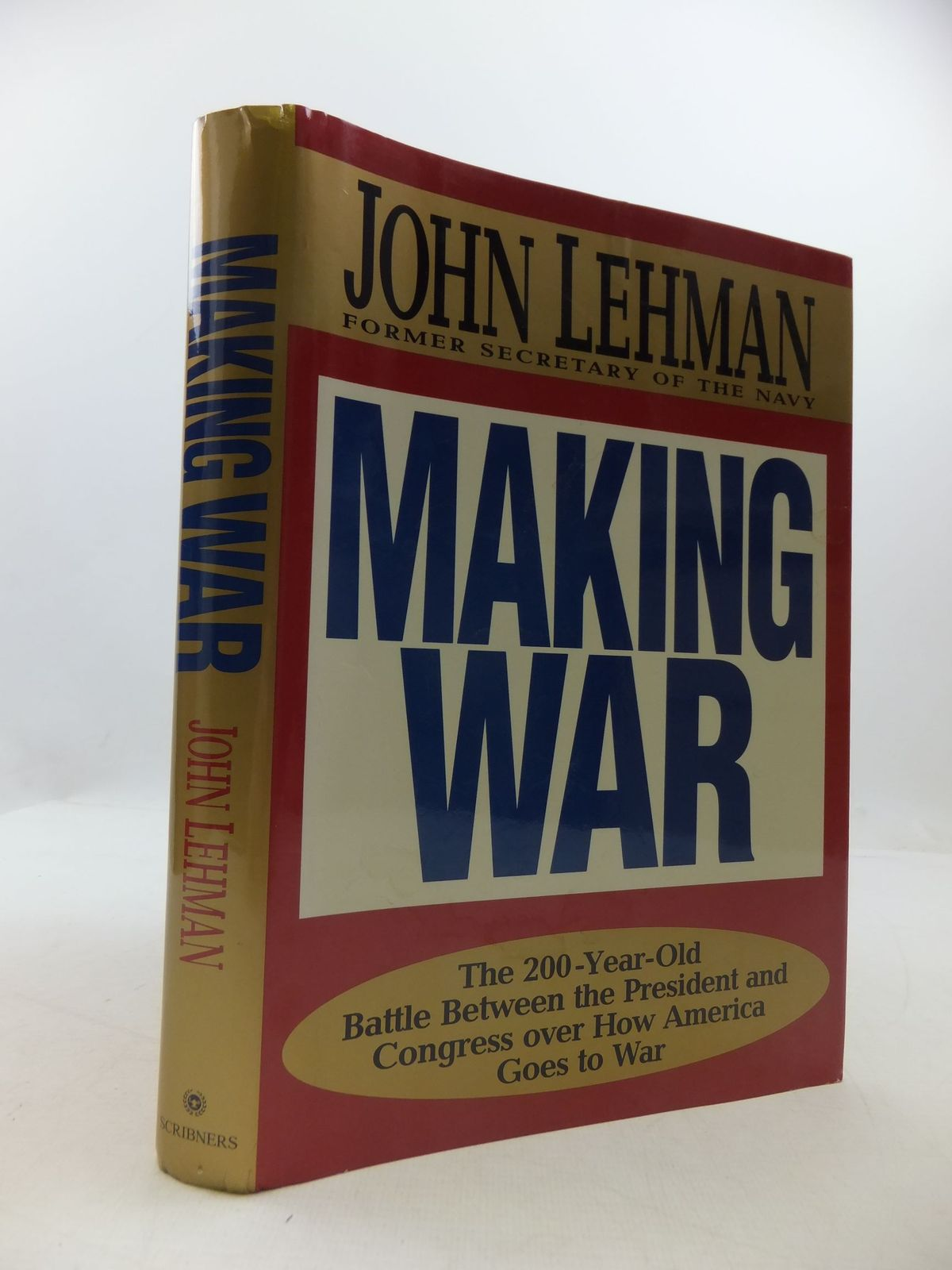 Photo of MAKING WAR written by Lehman, John published by Charles Scribner's Sons (STOCK CODE: 2111746)  for sale by Stella & Rose's Books