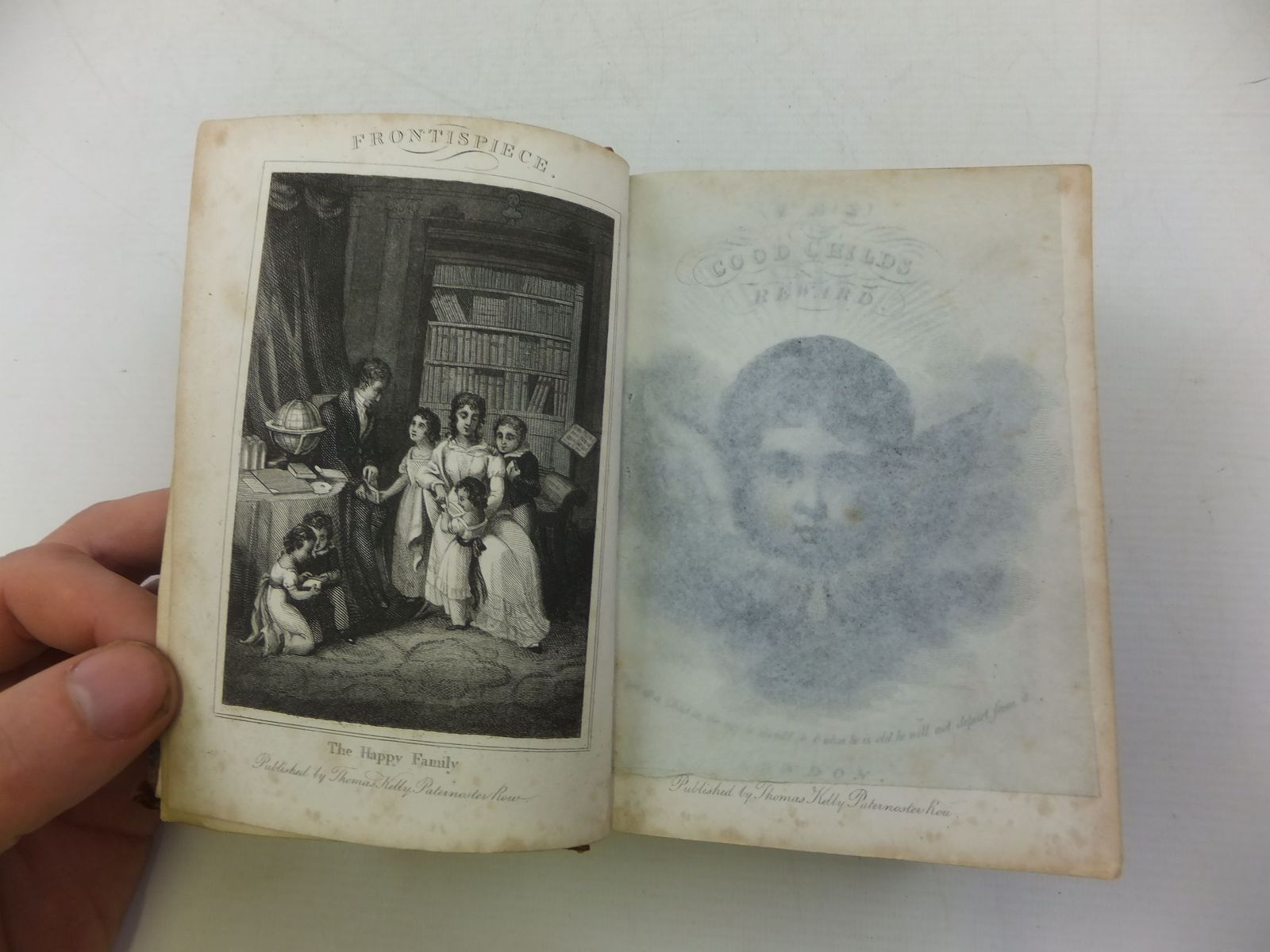 Photo of THE GOOD CHILD'S REWARD written by Horsley, Henry Sharpe published by Thomas Kelly (STOCK CODE: 2112020)  for sale by Stella & Rose's Books