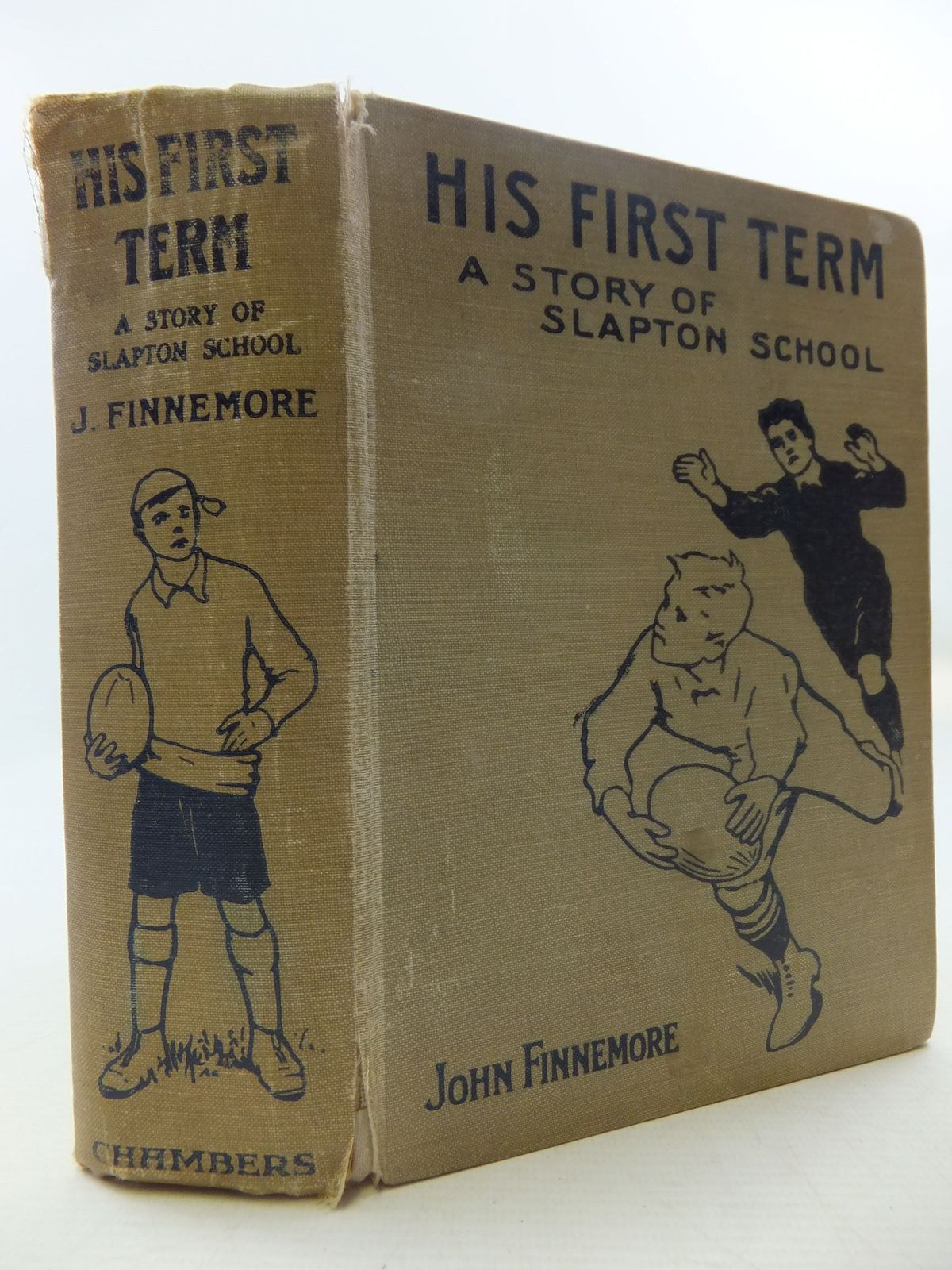 Photo of HIS FIRST TERM written by Finnemore, John illustrated by Groome, W.H.C. published by W. & R. Chambers Limited (STOCK CODE: 2112049)  for sale by Stella & Rose's Books