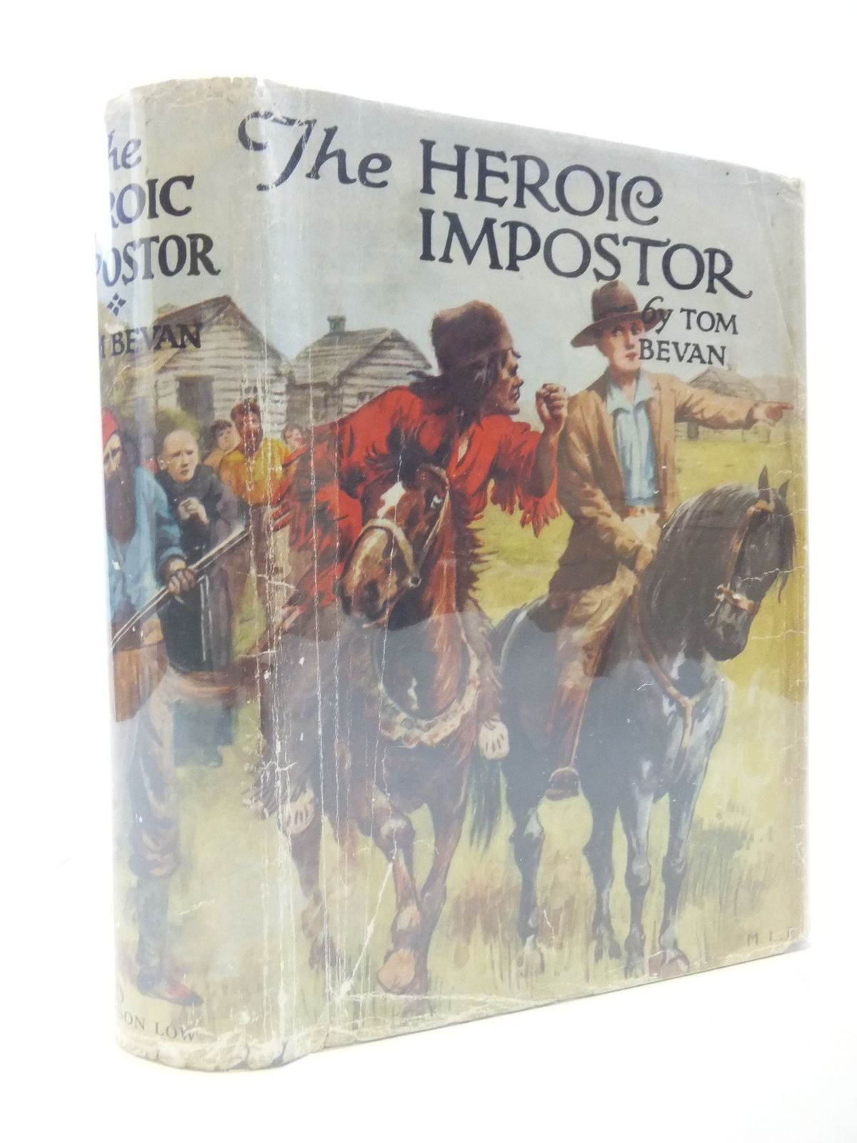 Photo of THE HEROIC IMPOSTER written by Bevan, Tom published by Sampson Low, Marston & Co. Ltd. (STOCK CODE: 2112166)  for sale by Stella & Rose's Books