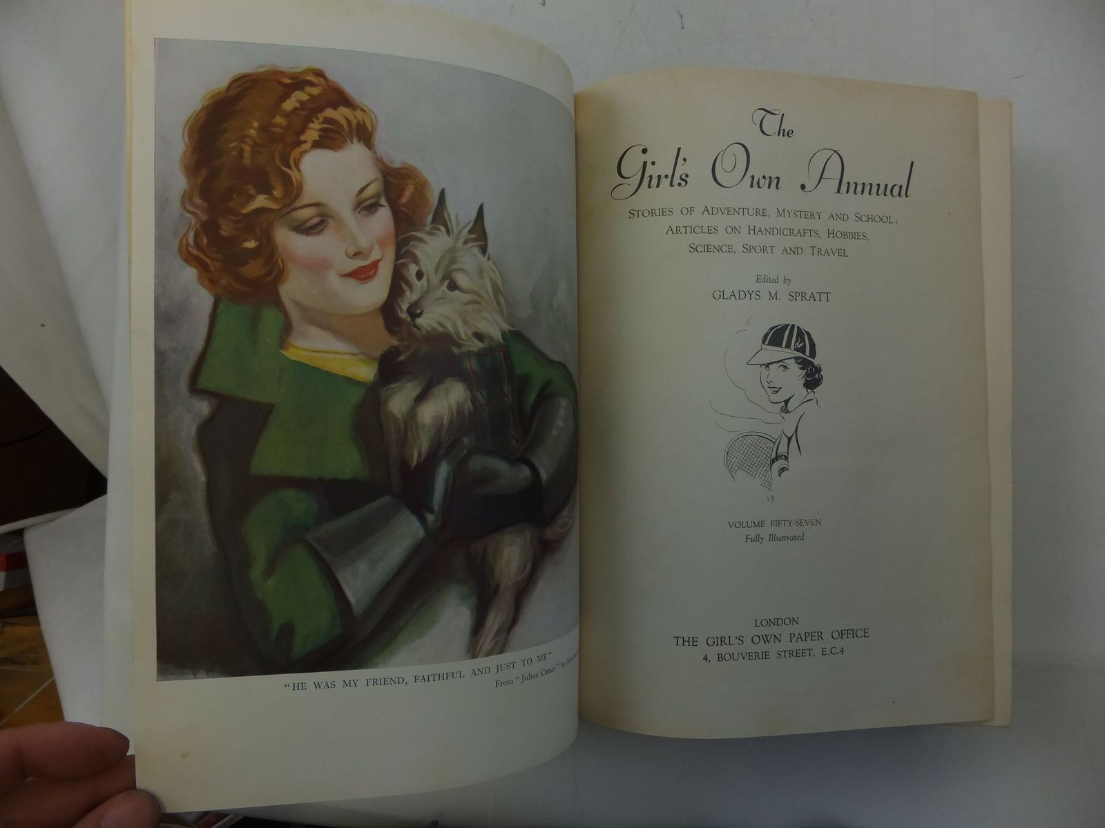 Photo of THE GIRL'S OWN ANNUAL - VOLUME 57 written by Spratt, Gladys M. Oxenham, Elsie J. et al,  published by The Girl's Own Paper Office (STOCK CODE: 2112187)  for sale by Stella & Rose's Books