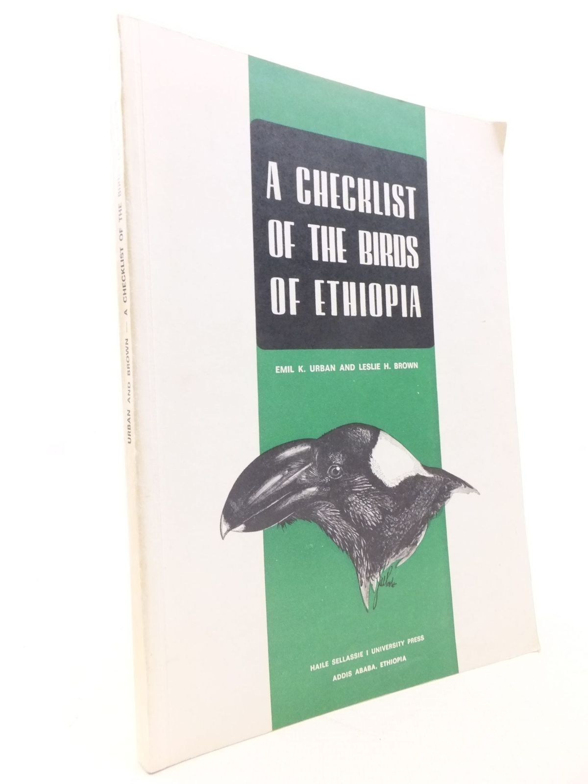 Photo of A CHECKLIST OF THE BIRDS OF ETHIOPIA- Stock Number: 2112201