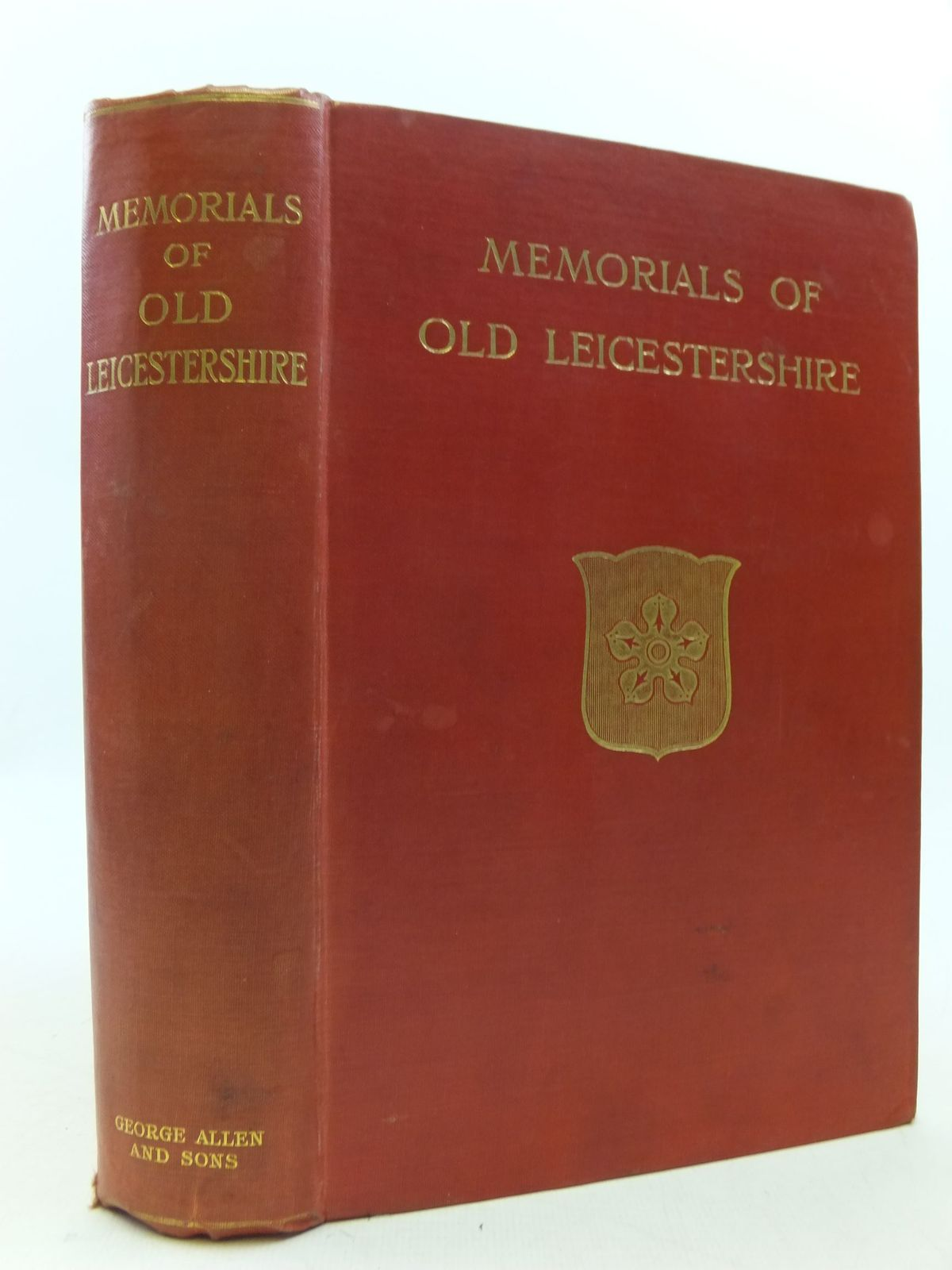 Photo of MEMORIALS OF OLD LEICESTERSHIRE written by Dryden, Alice published by George Allen & Sons (STOCK CODE: 2112290)  for sale by Stella & Rose's Books