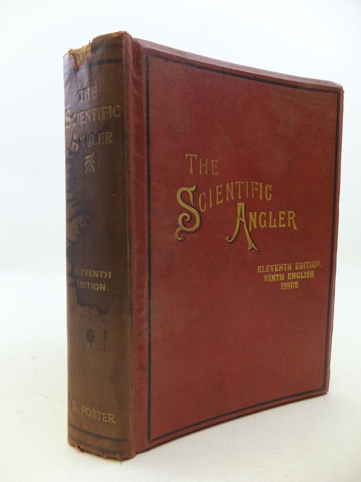 Photo of THE SCIENTIFIC ANGLER written by Foster, David illustrated by Foster, David published by Bemrose & Sons Limited (STOCK CODE: 2112291)  for sale by Stella & Rose's Books