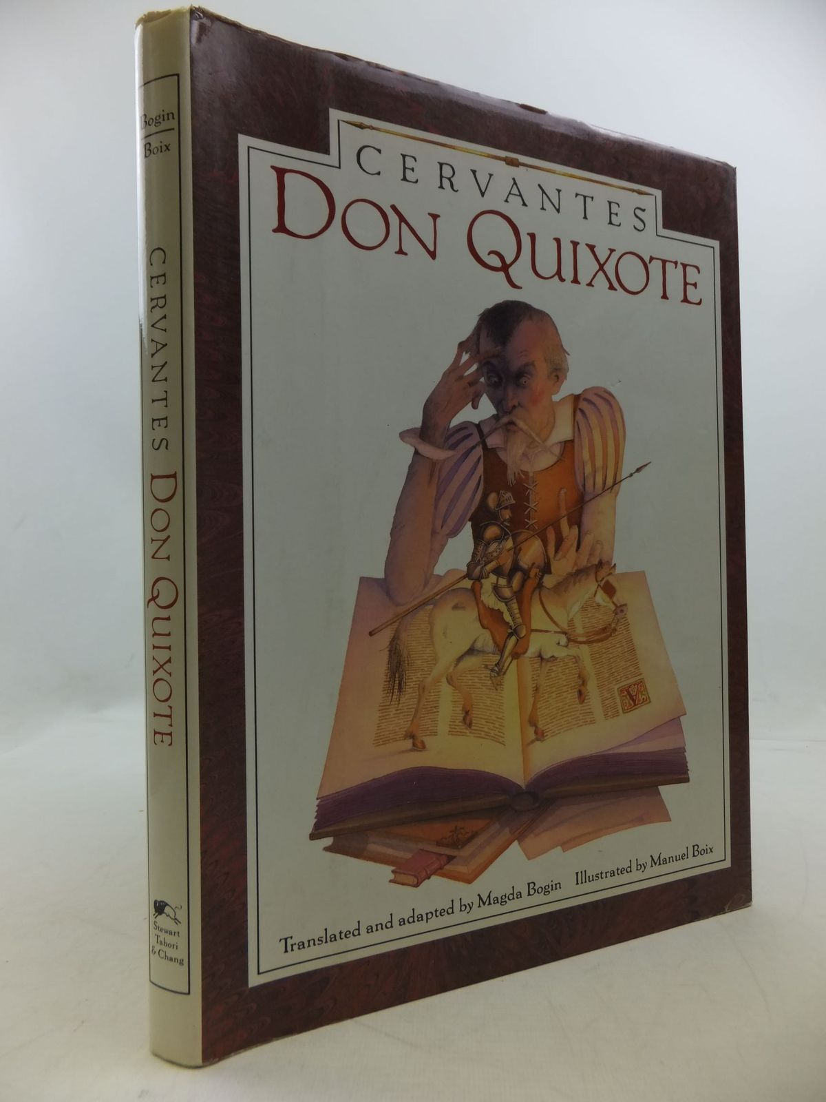 Photo of DON QUIXOTE written by De Cervantes, Miguel<br />Bogin, Magda illustrated by Boix, Manuel published by Stewart Tabori &amp; Chang (STOCK CODE: 2112392)  for sale by Stella & Rose's Books