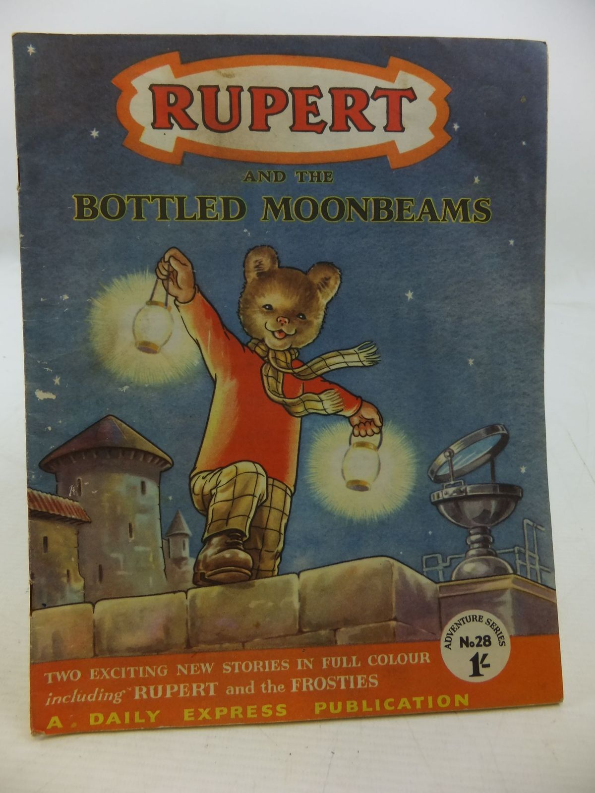 Photo of RUPERT ADVENTURE SERIES No. 28 - RUPERT AND THE BOTTLED MOONBEAMS- Stock Number: 2112483