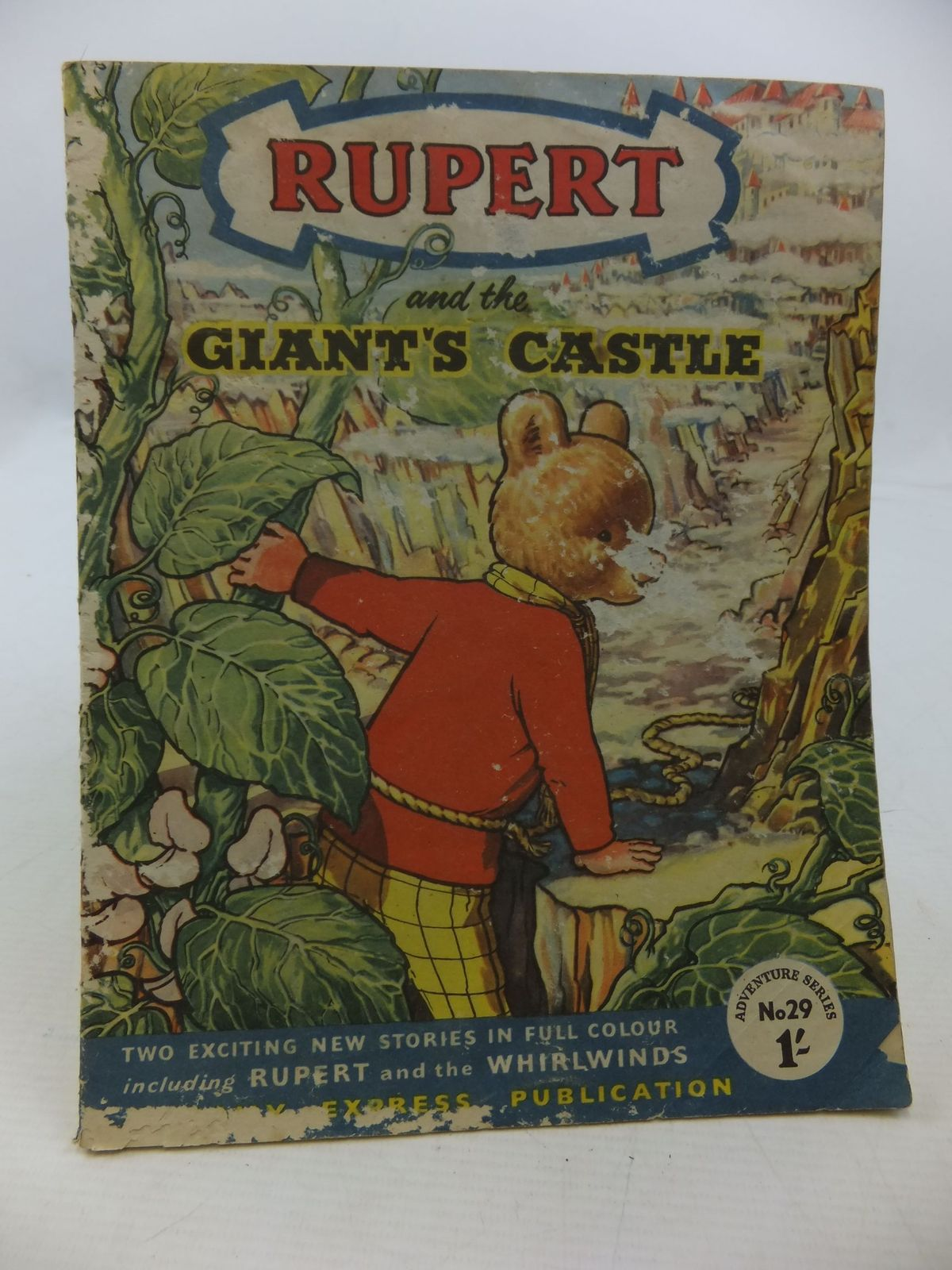 Photo of RUPERT ADVENTURE SERIES No. 29 - RUPERT AND THE GIANT'S CASTLE- Stock Number: 2112484