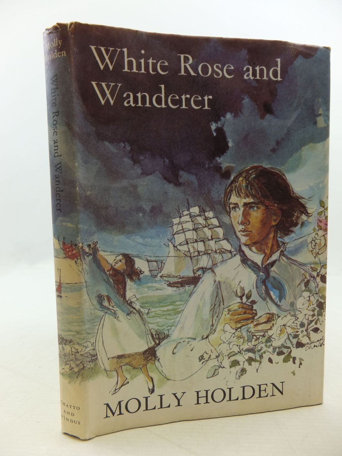 Photo of WHITE ROSE AND WANDERER written by Holden, Molly illustrated by Charlton, Michael published by Chatto & Windus (STOCK CODE: 2112591)  for sale by Stella & Rose's Books
