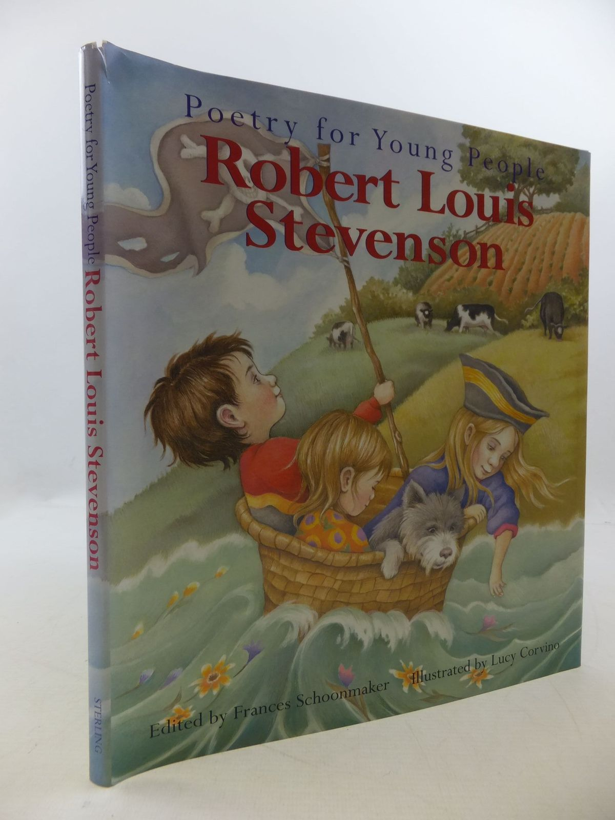 Photo of POETRY FOR YOUNG PEOPLE ROBERT LOUIS STEVENSON written by Stevenson, Robert Louis Schoonmaker, Frances illustrated by Corvino, Lucy published by Sterling Publishing Co., Inc. (STOCK CODE: 2112610)  for sale by Stella & Rose's Books