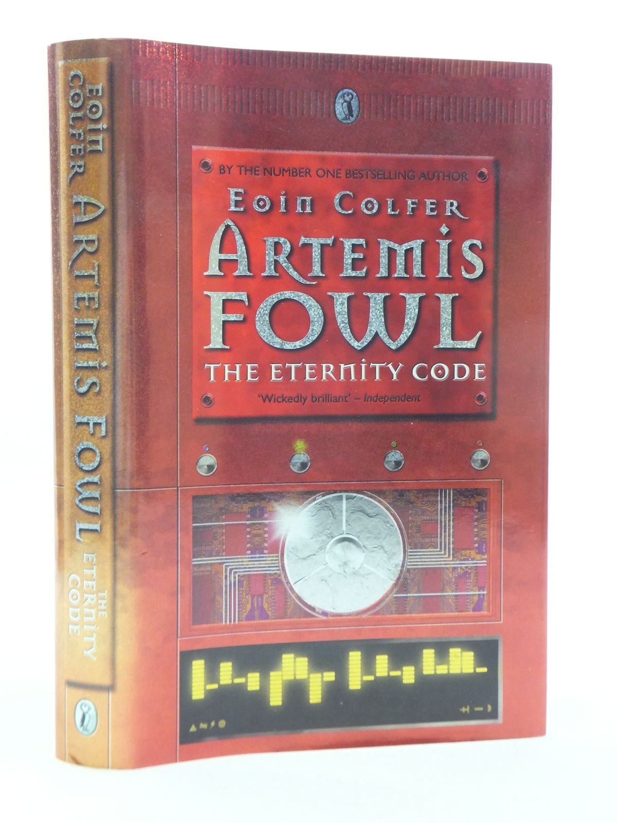 Photo of ARTEMIS FOWL THE ETERNITY CODE written by Colfer, Eoin published by Puffin Books (STOCK CODE: 2112788)  for sale by Stella & Rose's Books