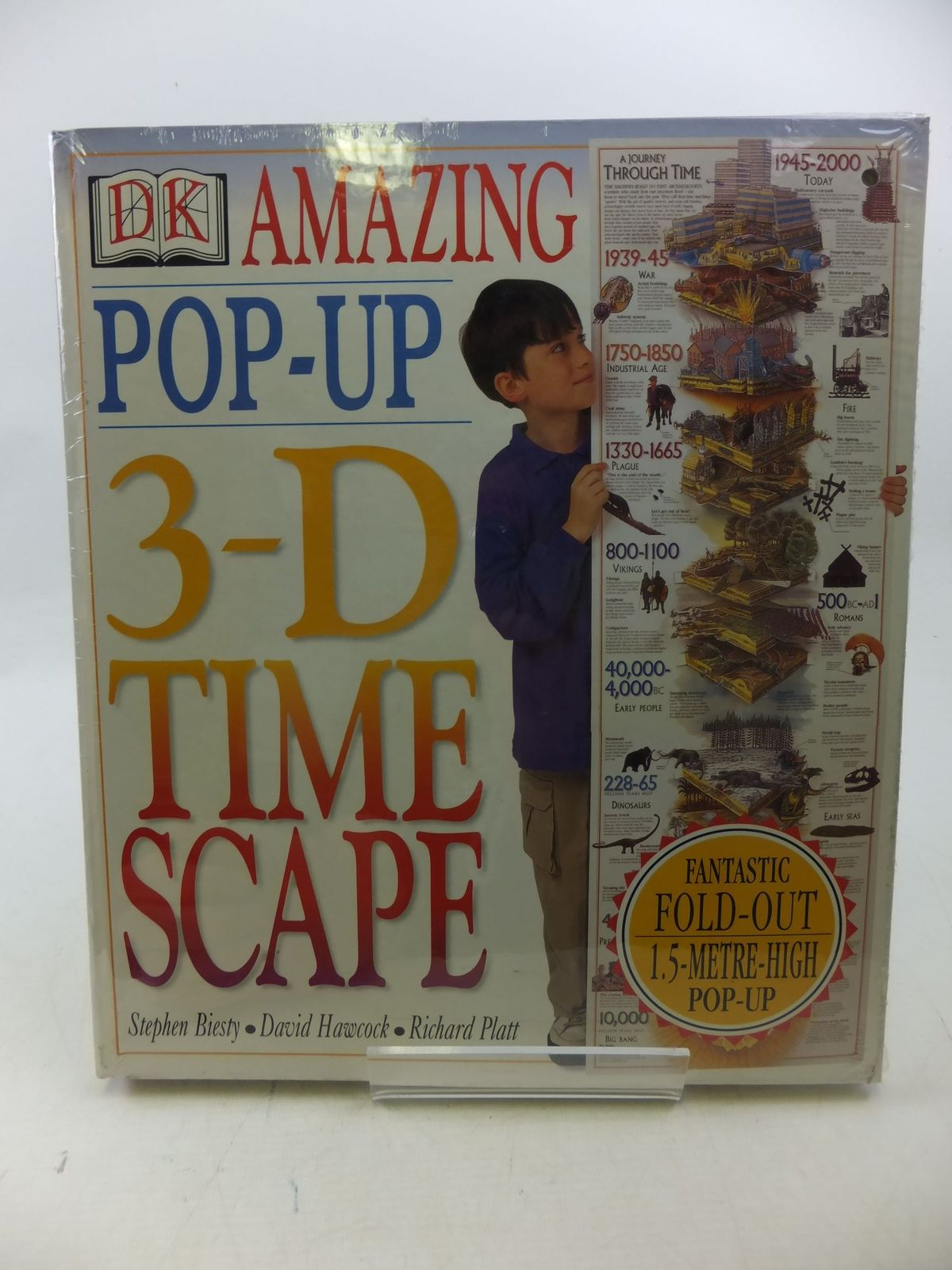 Photo of THE AMAZING POP-UP 3-D TIME SCAPE written by Platt, Richard illustrated by Biesty, Stephen published by Dorling Kindersley (STOCK CODE: 2112944)  for sale by Stella & Rose's Books