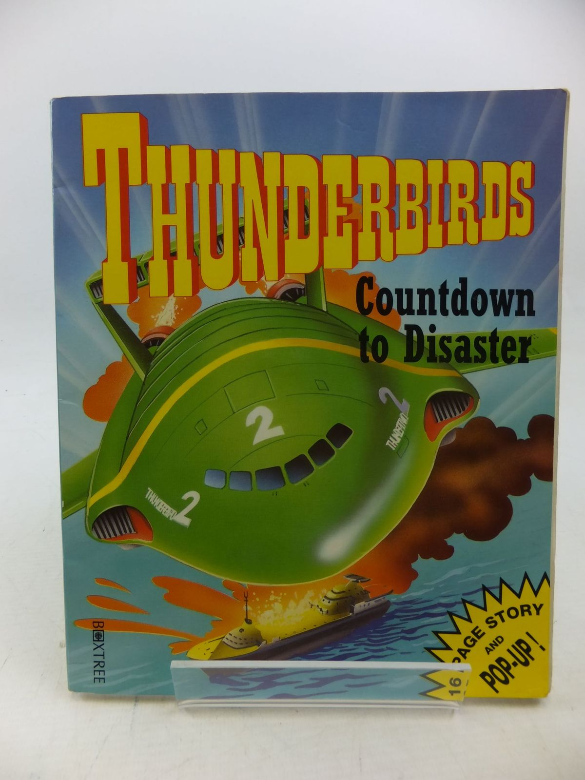 Photo of THUNDERBIRDS COUNTDOWN TO DISASTER written by Marks, Graham illustrated by Arkadia, published by Boxtree Limited (STOCK CODE: 2112963)  for sale by Stella & Rose's Books