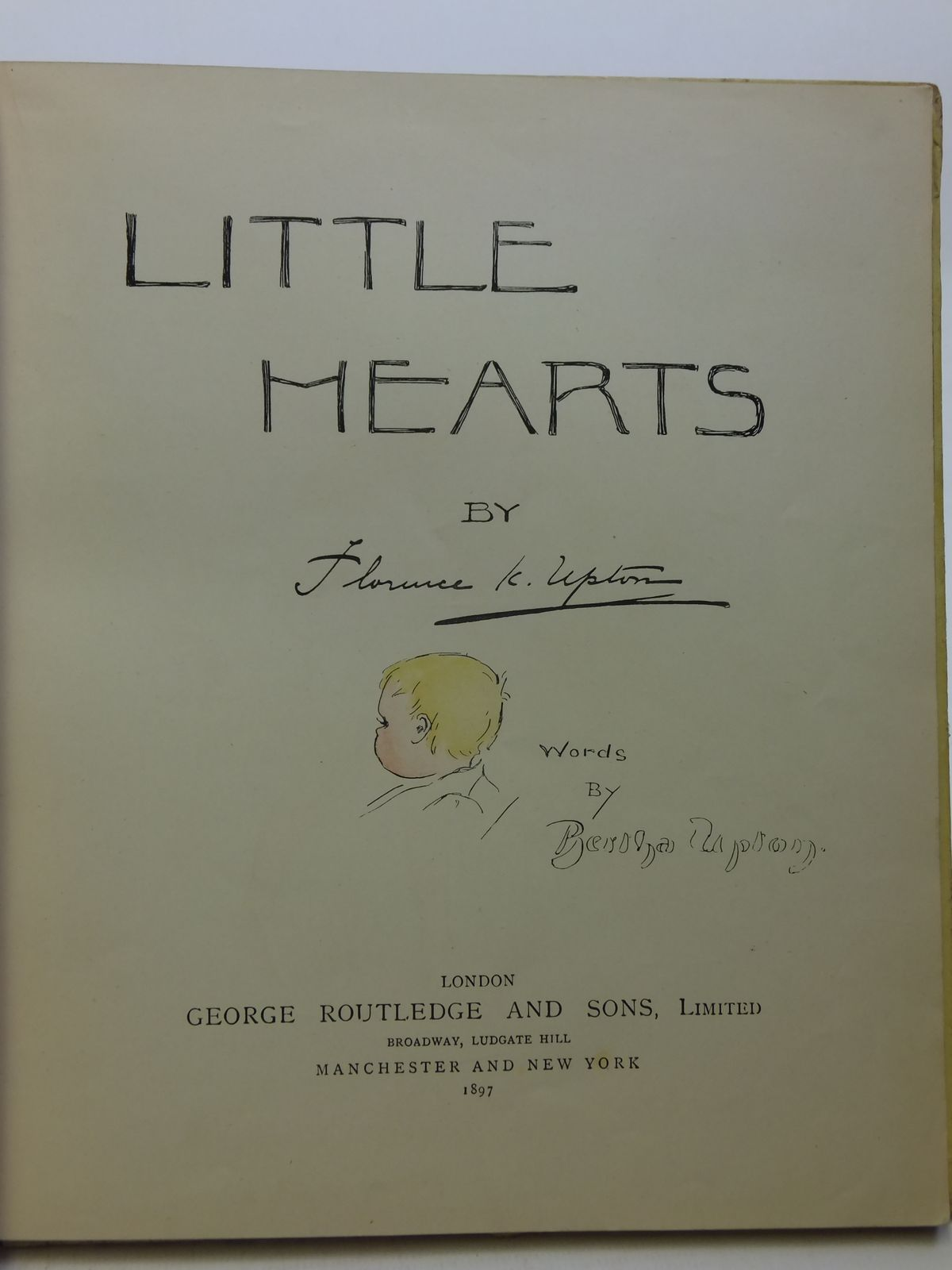 Photo of LITTLE HEARTS written by Upton, Bertha illustrated by Upton, Florence published by George Routledge & Sons Ltd. (STOCK CODE: 2113053)  for sale by Stella & Rose's Books