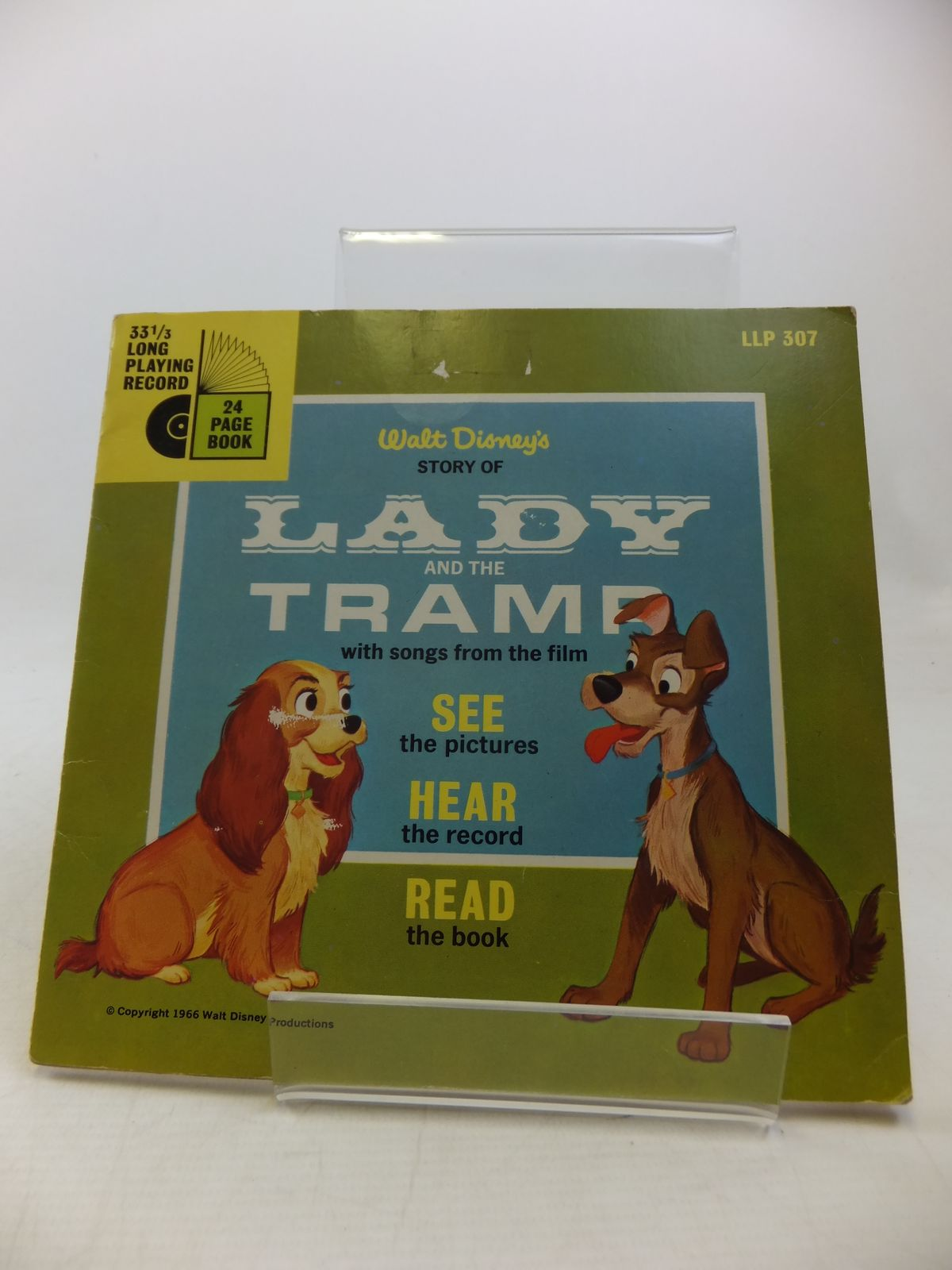Photo of WALT DISNEY'S STORY OF LADY AND THE TRAMP WITH SONGS FROM THE FILM- Stock Number: 2113138