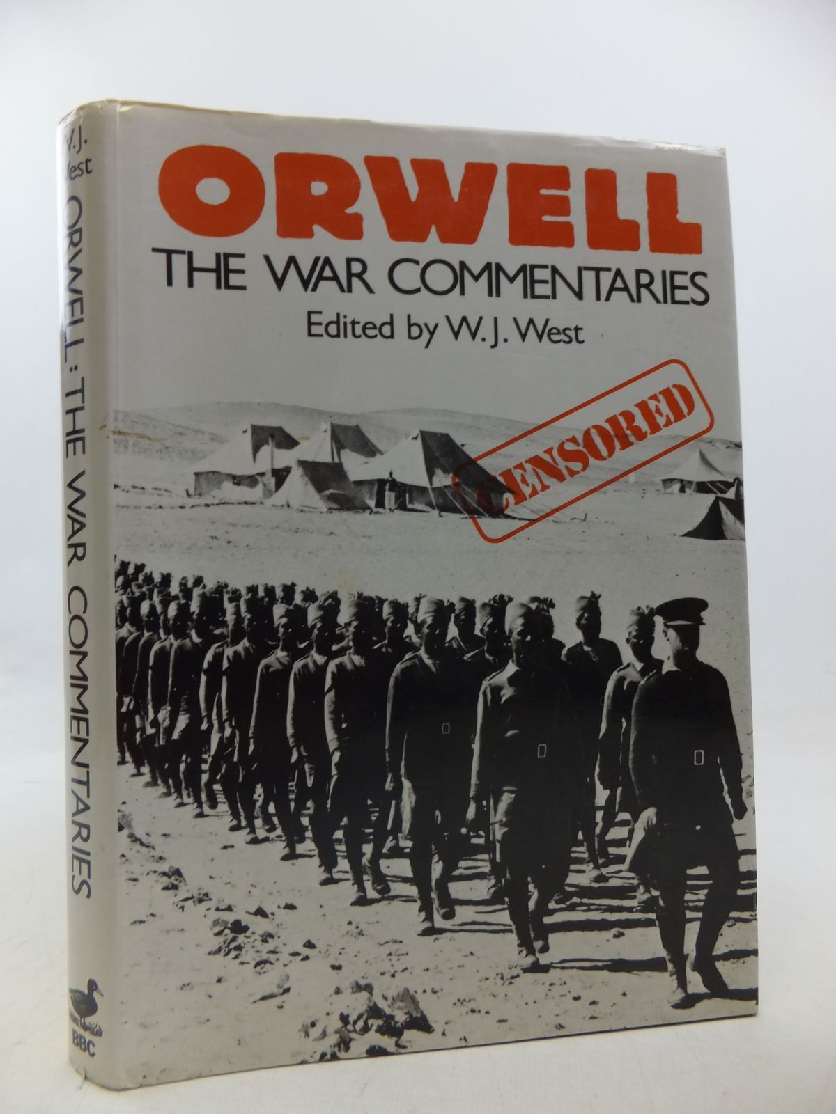 Photo of ORWELL THE WAR COMMENTARIES written by Orwell, George