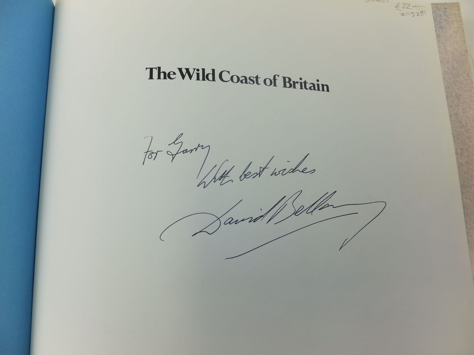Photo of WILD COAST OF BRITAIN written by Bellamy, David illustrated by Bellamy, David published by Webb & Bower (STOCK CODE: 2113281)  for sale by Stella & Rose's Books