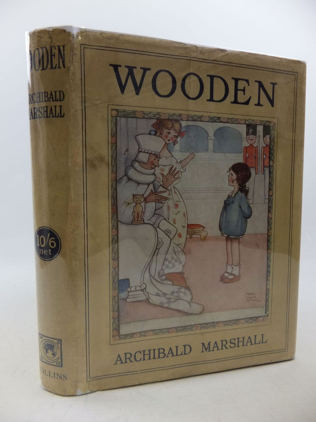 Photo of WOODEN A FAIRY TALE written by Marshall, Archibald illustrated by Attwell, Mabel Lucie published by Collins Clear-Type Press (STOCK CODE: 2113299)  for sale by Stella & Rose's Books