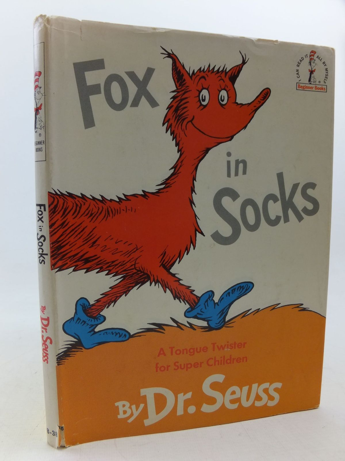 Photo of FOX IN SOCKS written by Seuss, Dr. illustrated by Seuss, Dr. published by Beginner Books, Random House (STOCK CODE: 2113310)  for sale by Stella & Rose's Books