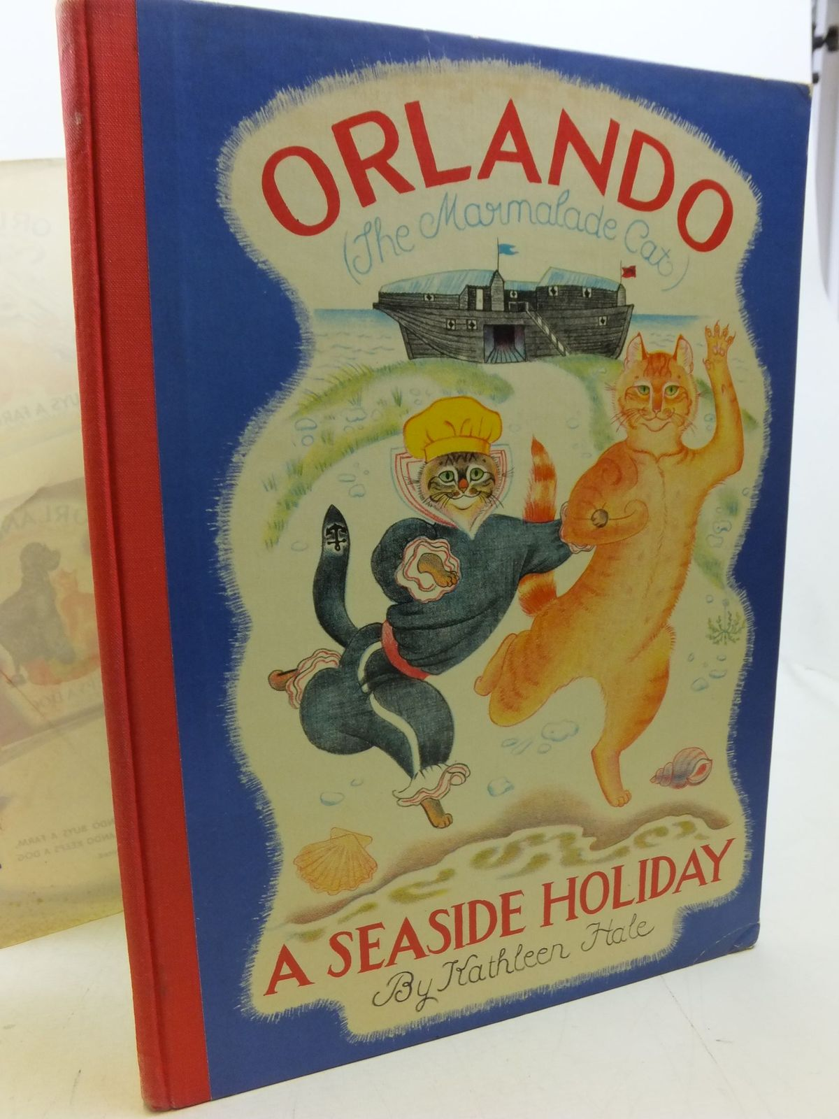 Photo of ORLANDO (THE MARMALADE CAT) A SEASIDE HOLIDAY written by Hale, Kathleen illustrated by Hale, Kathleen published by Country Life Limited (STOCK CODE: 2113326)  for sale by Stella & Rose's Books