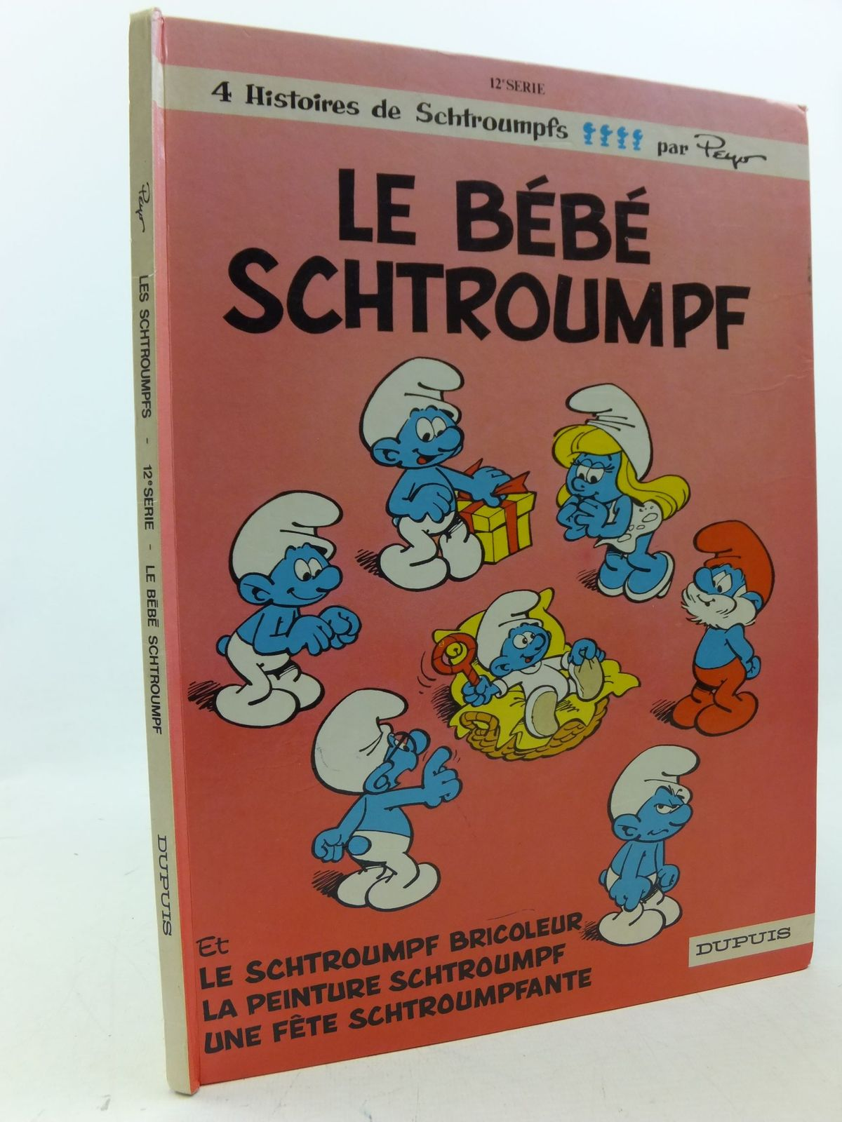 Photo of LE BEBE SCHTROUMPF written by Peyo, illustrated by Peyo, published by Dupuis (STOCK CODE: 2113386)  for sale by Stella & Rose's Books