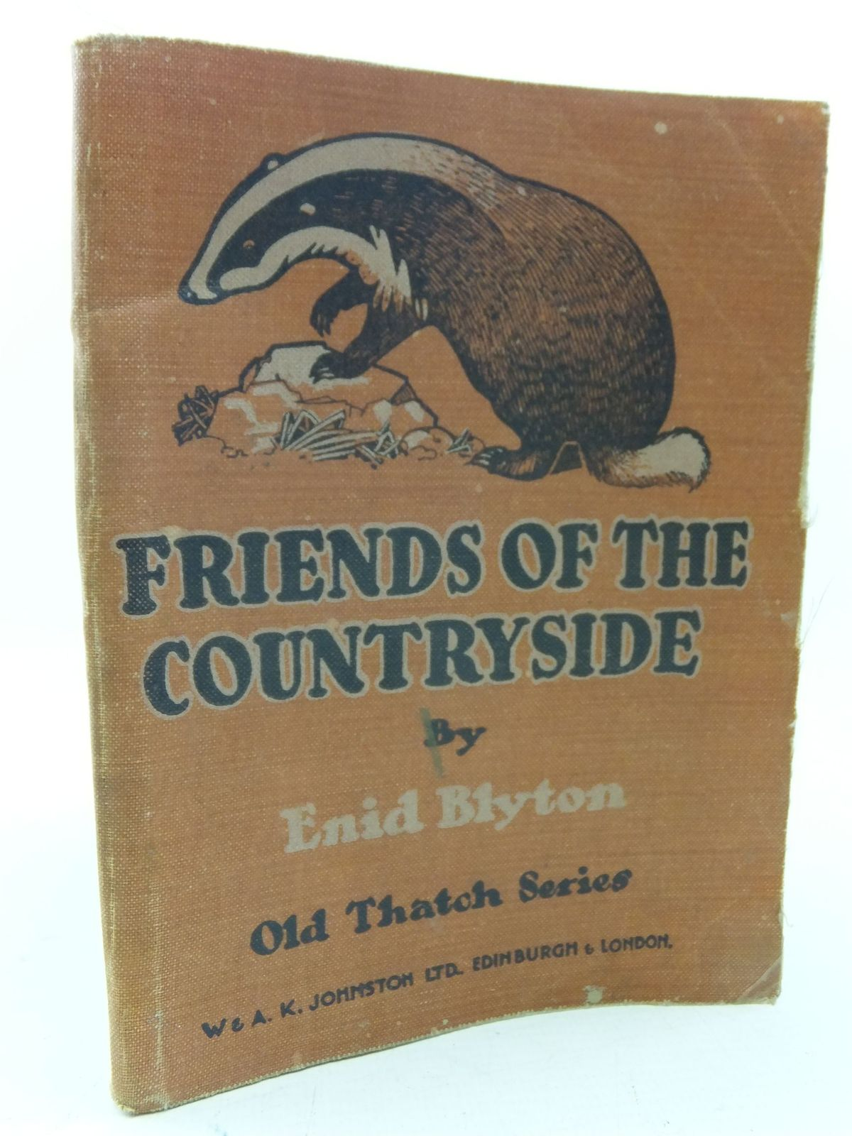Photo of FRIENDS OF THE COUNTRYSIDE written by Blyton, Enid illustrated by MacDowell,  published by W. & A.K. Johnston Limited (STOCK CODE: 2113500)  for sale by Stella & Rose's Books