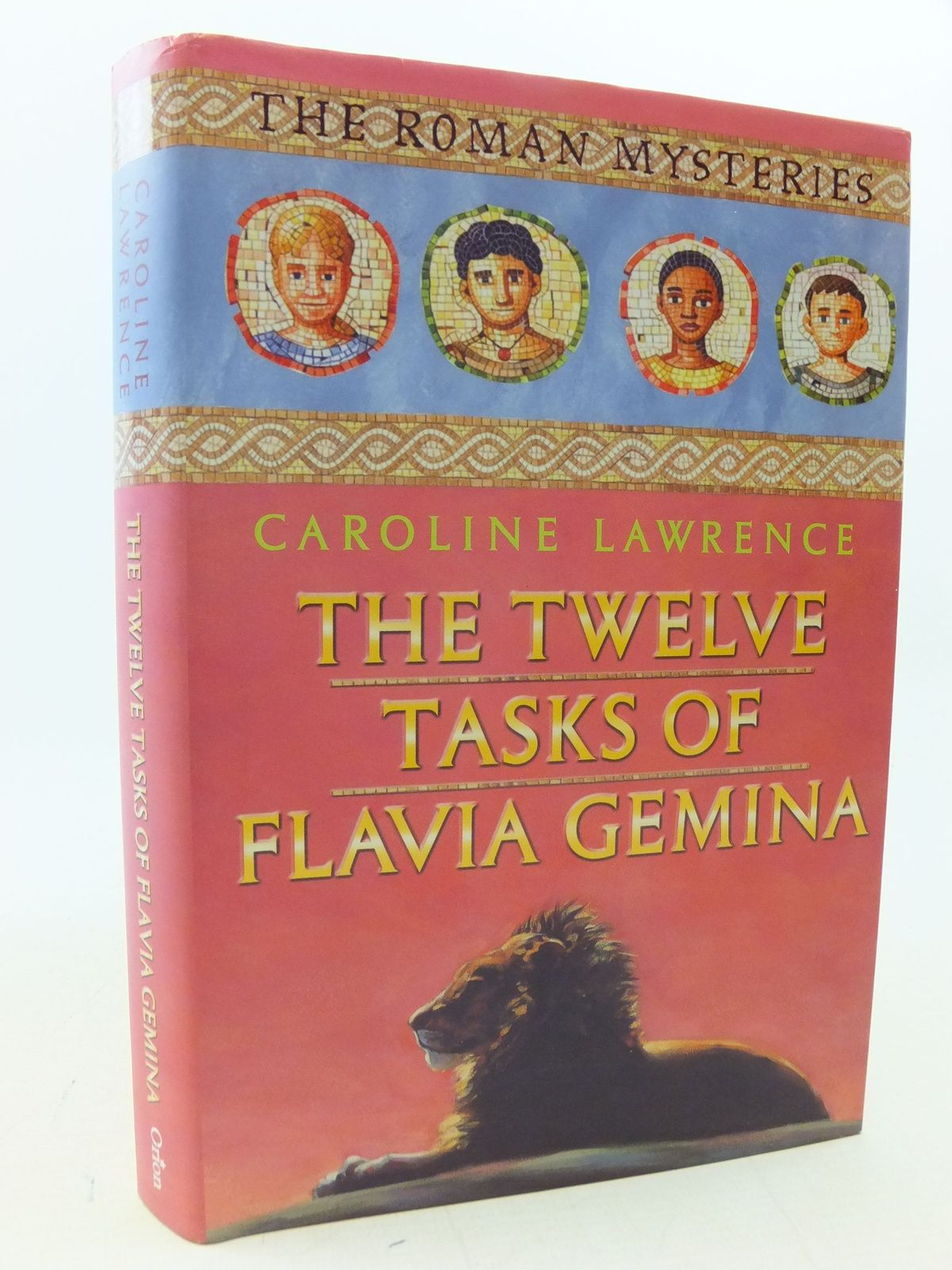 Photo of THE TWELVE TASKS OF FLAVIA GEMINA written by Lawrence, Caroline published by Orion Children's Books (STOCK CODE: 2113593)  for sale by Stella & Rose's Books