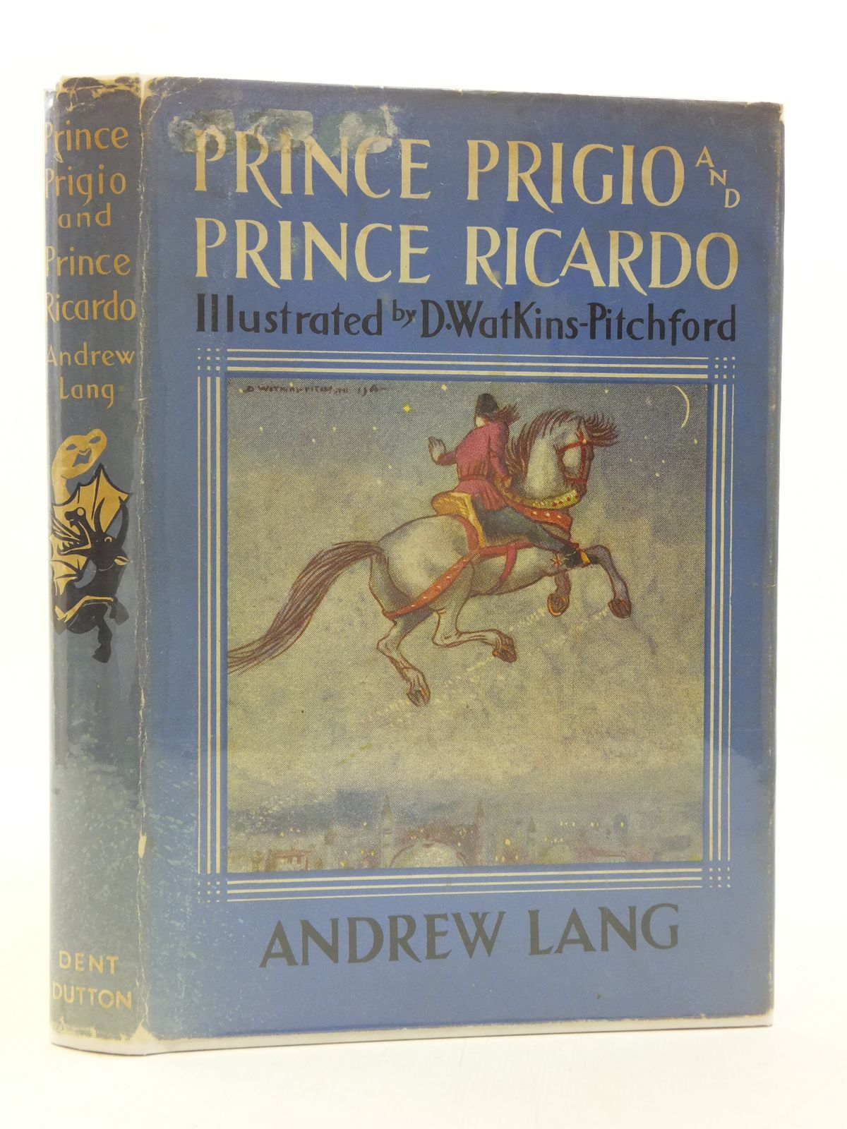 Photo of PRINCE PRIGIO AND PRINCE RICARDO written by Lang, Andrew illustrated by BB,  published by J.M. Dent & Sons Ltd. (STOCK CODE: 2113793)  for sale by Stella & Rose's Books