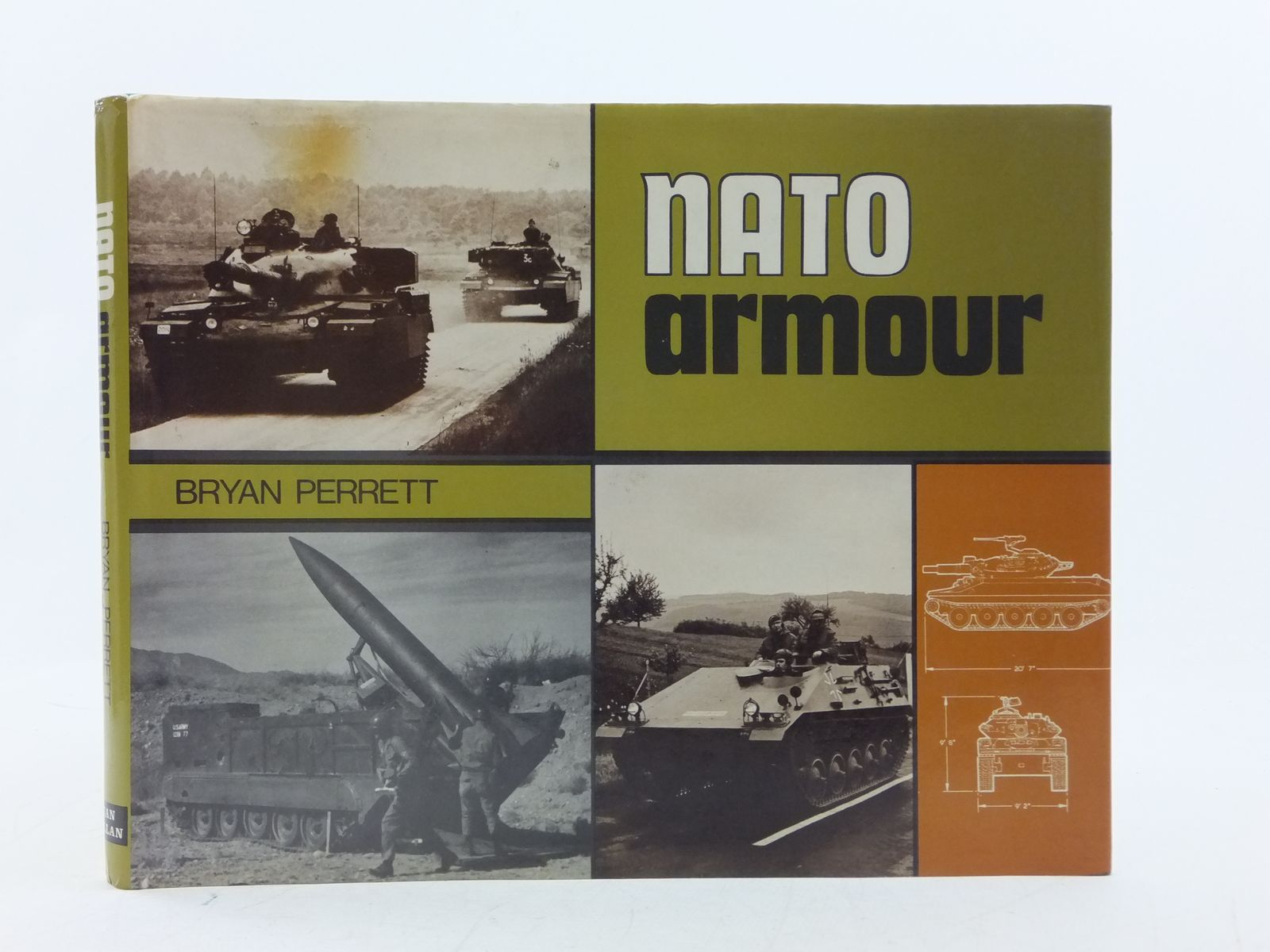Photo of NATO ARMOUR written by Perrett, Bryan published by Ian Allan (STOCK CODE: 2113871)  for sale by Stella & Rose's Books