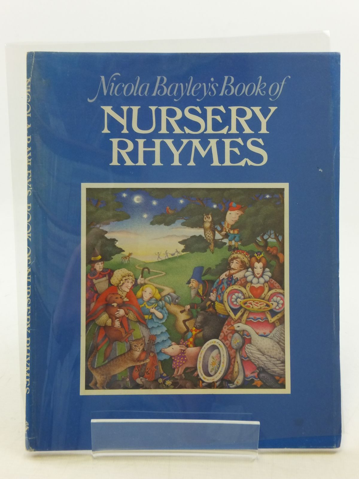 Photo of NICOLA BAYLEY'S BOOK OF NURSERY RHYMES illustrated by Bayley, Nicola published by Jonathan Cape (STOCK CODE: 2113886)  for sale by Stella & Rose's Books