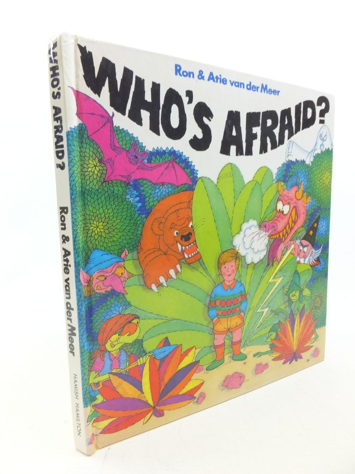 Photo of WHO'S AFRAID? written by Van Der Meer, Ron Van Der Meer, Atie published by Hamish Hamilton (STOCK CODE: 2113967)  for sale by Stella & Rose's Books