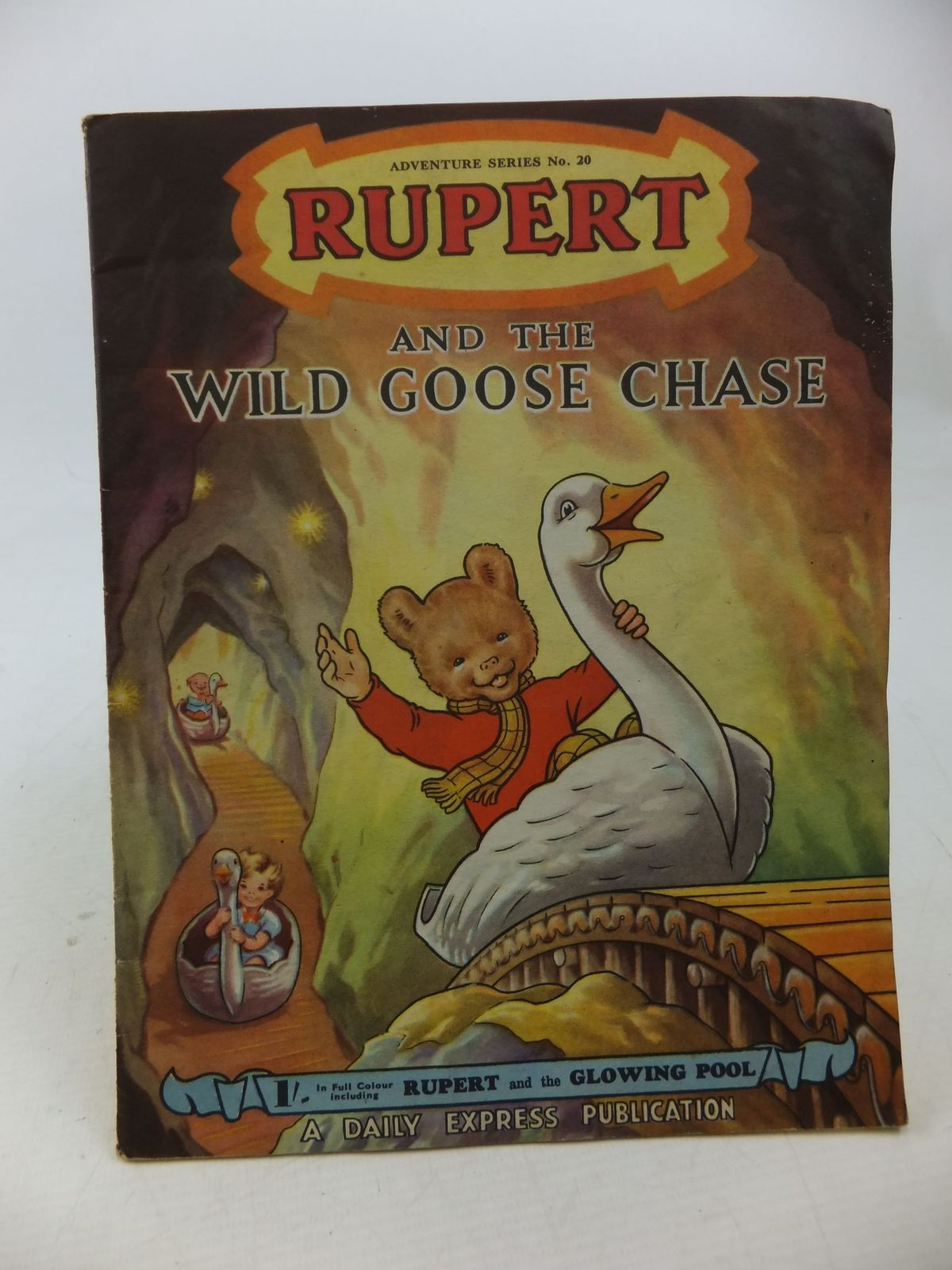 Photo of RUPERT ADVENTURE SERIES No. 20 - RUPERT AND THE WILD GOOSE CHASE- Stock Number: 2114201