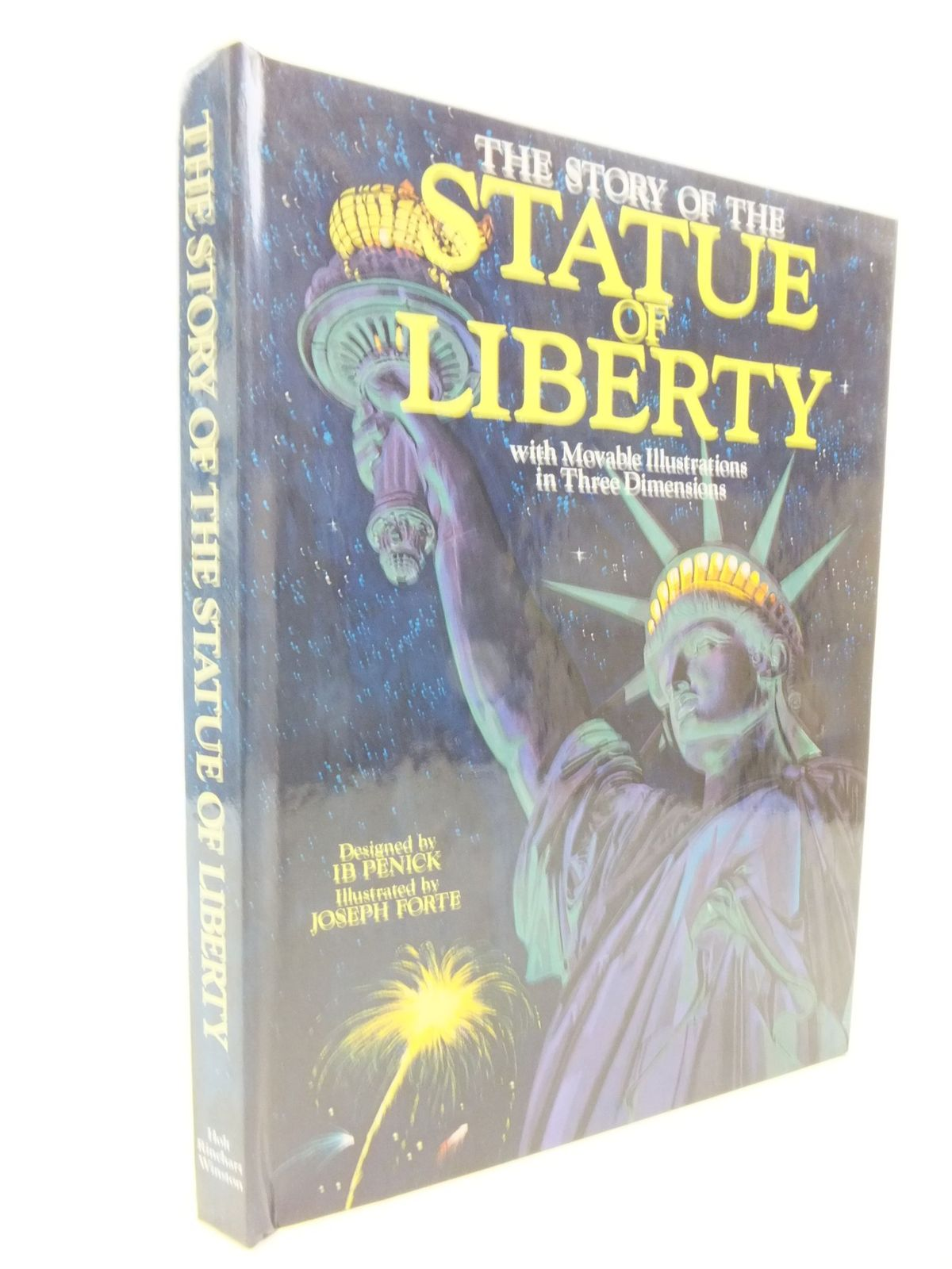 Photo of THE STORY OF THE STATUE OF LIBERTY written by Penick, Ib illustrated by Forte, Joseph published by Holt Rinehart & Winston (STOCK CODE: 2114245)  for sale by Stella & Rose's Books