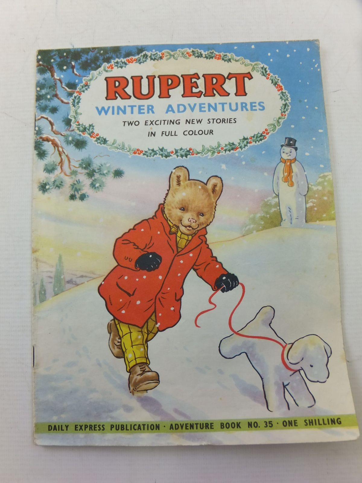 Photo of RUPERT ADVENTURE BOOK No. 35 - WINTER ADVENTURES- Stock Number: 2114249