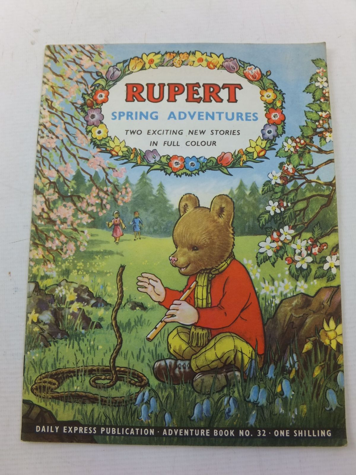 Photo of RUPERT ADVENTURE BOOK No. 32 - SPRING ADVENTURES- Stock Number: 2114250