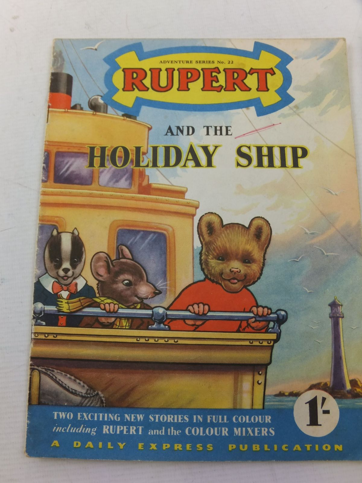 Photo of RUPERT ADVENTURE SERIES No. 22 - RUPERT AND THE HOLIDAY SHIP- Stock Number: 2114251
