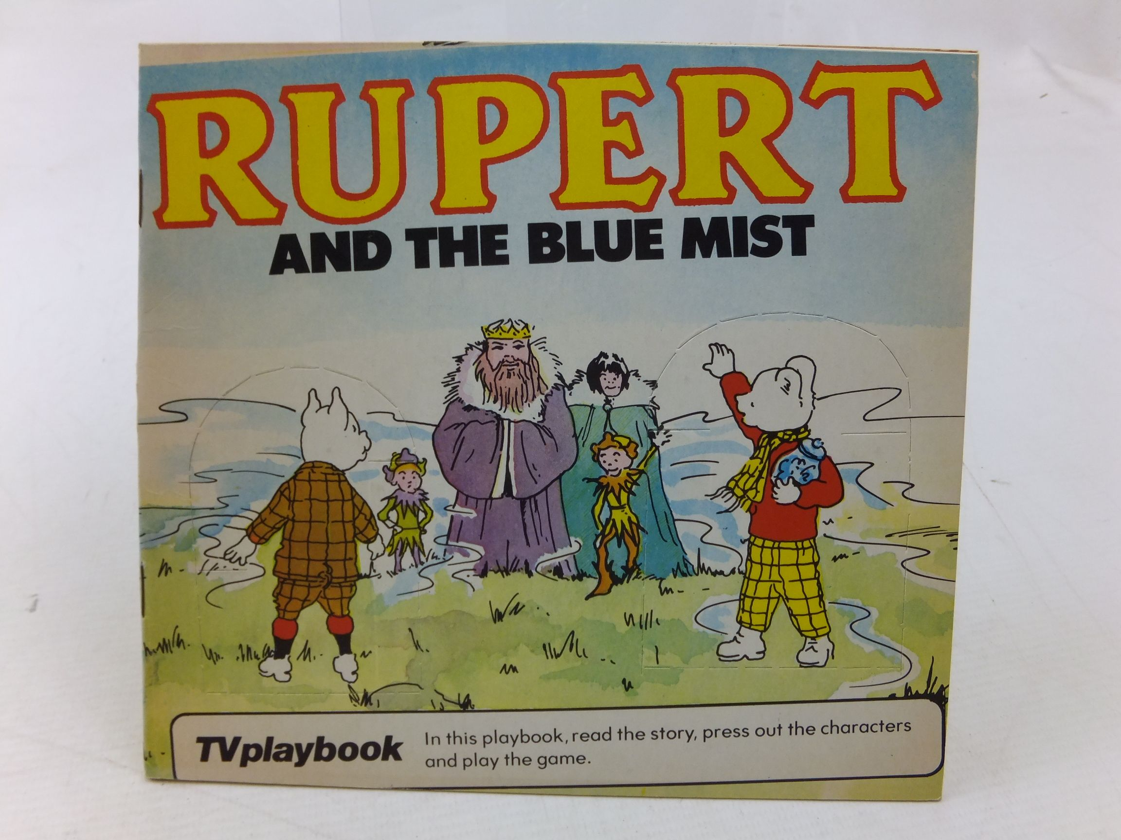 Photo of RUPERT AND THE BLUE MIST written by Wells, Mick illustrated by Wells, Mick published by Michael Stanfield Holdings (STOCK CODE: 2114267)  for sale by Stella & Rose's Books