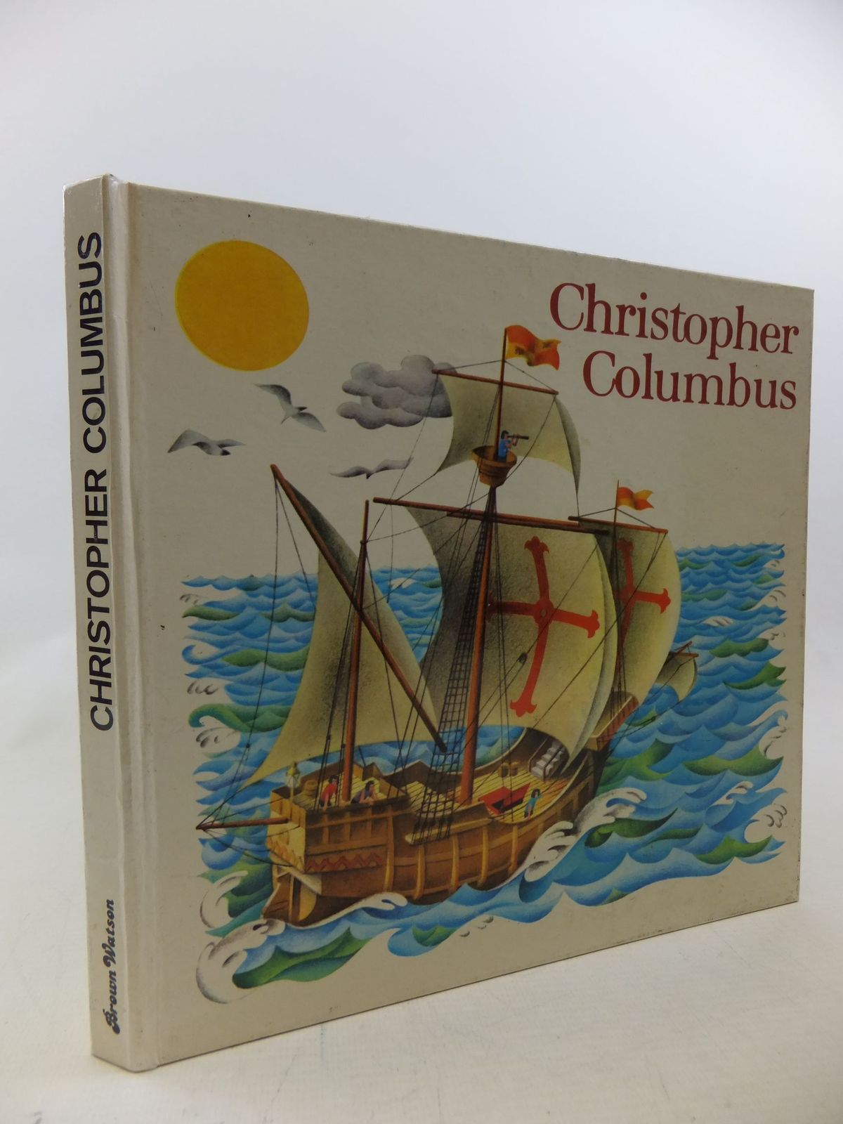 Photo of CHRISTOPHER COLUMBUS illustrated by Pavlin, J. Seda, G. published by Brown Watson (STOCK CODE: 2114283)  for sale by Stella & Rose's Books