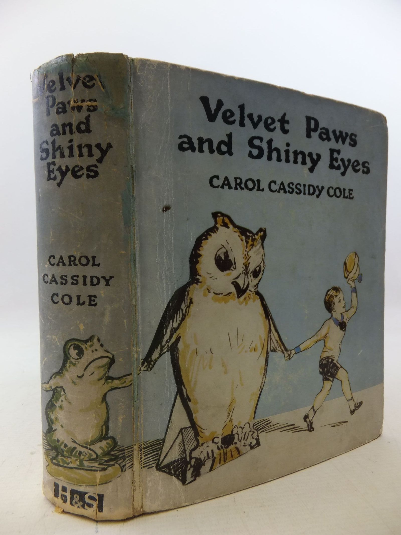 Photo of VELVET PAWS AND SHINY EYES written by Cole, Carol Cassidy illustrated by Ward, Dudley<br />Stead, Leo. L. published by Hodder &amp; Stoughton (STOCK CODE: 2114353)  for sale by Stella & Rose's Books