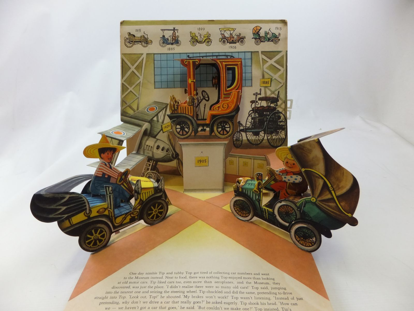 Photo of TIP & TOP BUILD A MOTORCAR written by Kubasta, V. illustrated by Kubasta, Vojtech published by Bancroft & Co. Ltd. (STOCK CODE: 2114414)  for sale by Stella & Rose's Books