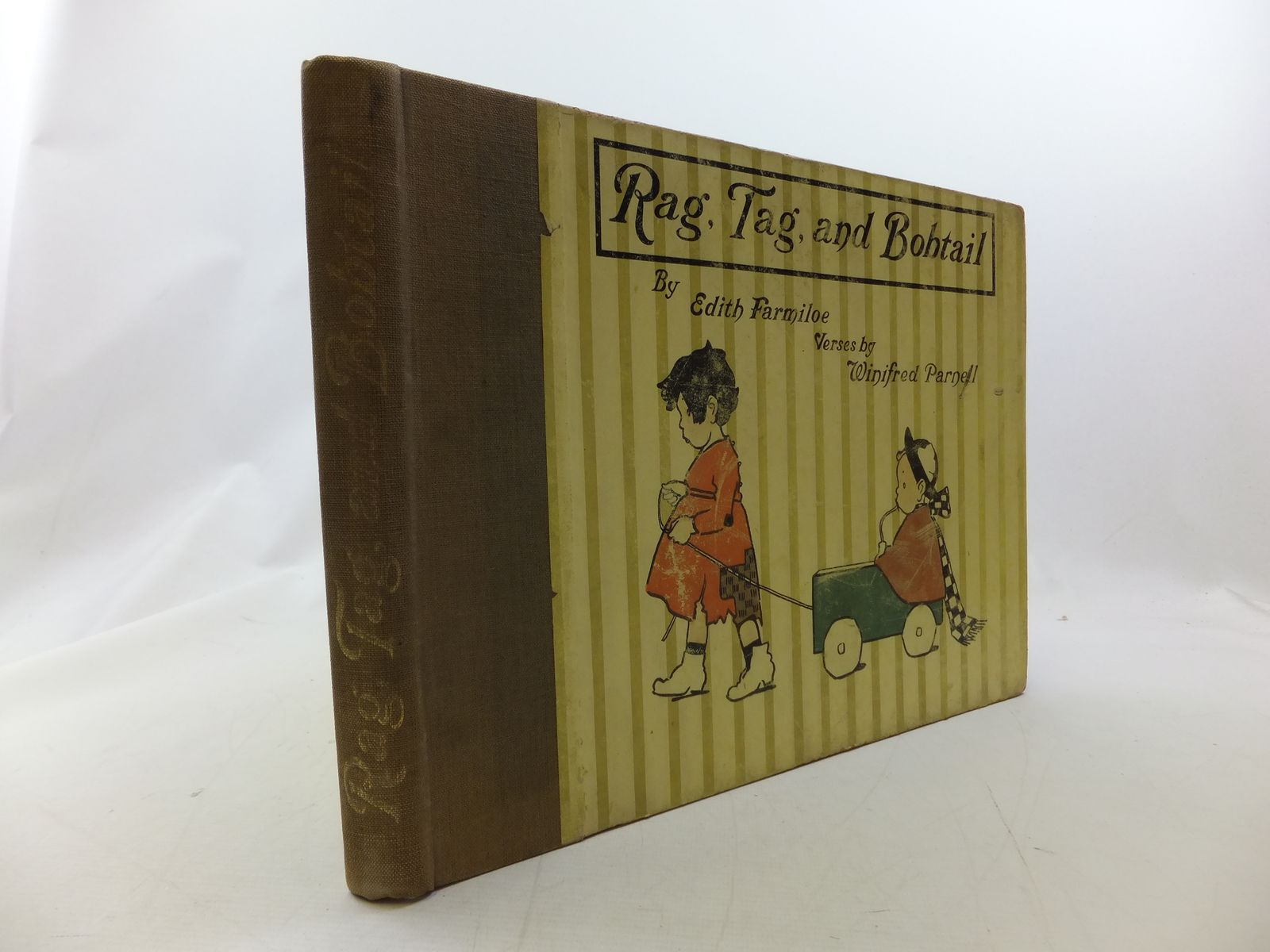 Photo of RAG, TAG, AND BOBTAIL written by Parnell, Winifred illustrated by Farmiloe, Edith published by Grant Richards (STOCK CODE: 2114422)  for sale by Stella & Rose's Books