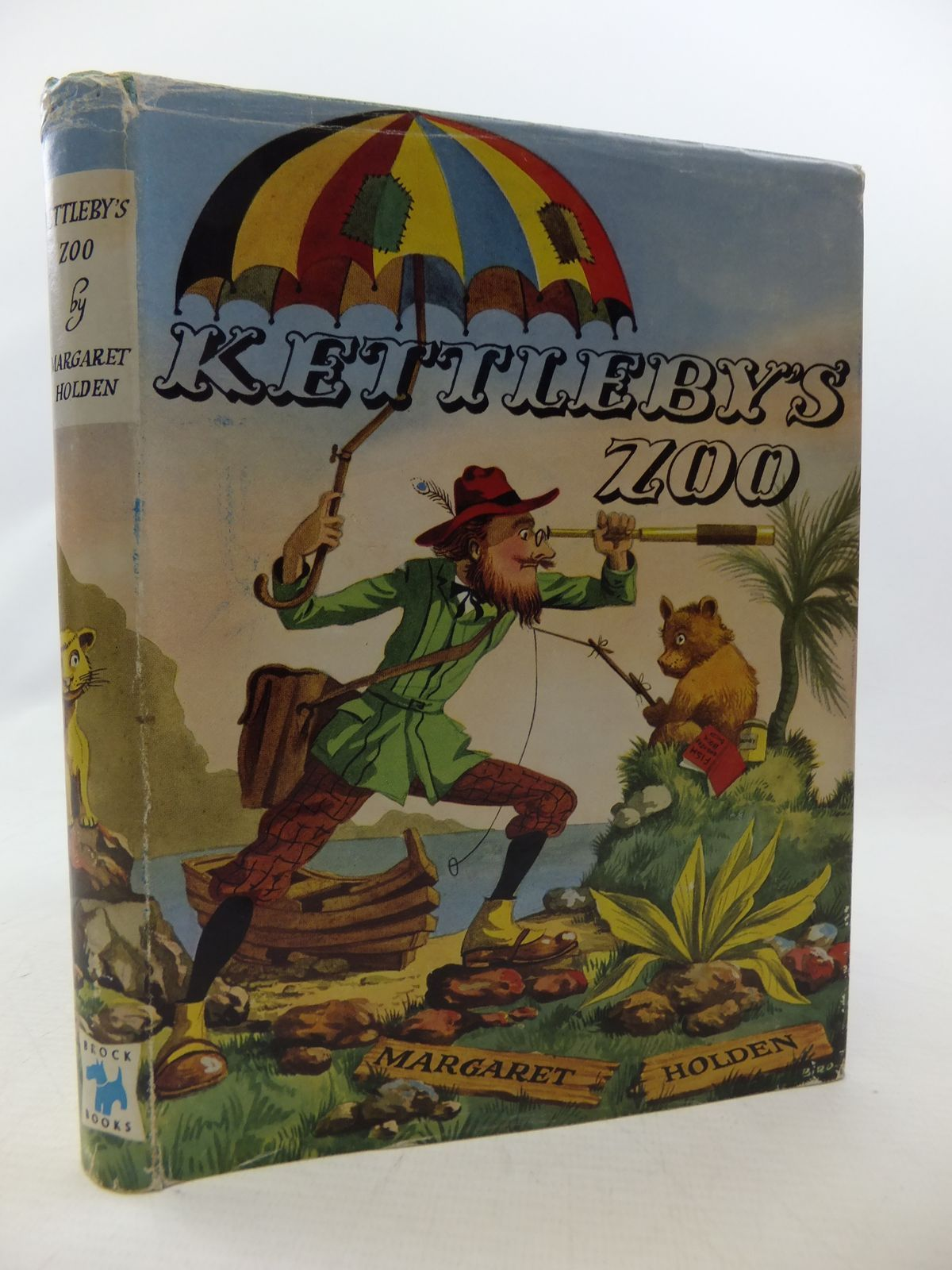 Photo of KETTLEBY'S ZOO written by Holden, Margaret illustrated by Biro, published by Brockhampton Press Ltd. (STOCK CODE: 2114425)  for sale by Stella & Rose's Books