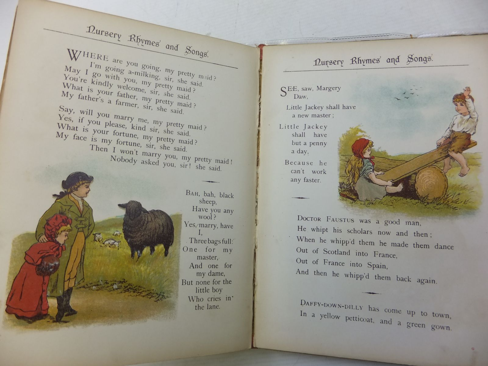 Photo of THE HUMPTY DUMPTY NURSERY RHYME BOOK illustrated by Haslewood, Constance published by Frederick Warne & Co. (STOCK CODE: 2114427)  for sale by Stella & Rose's Books