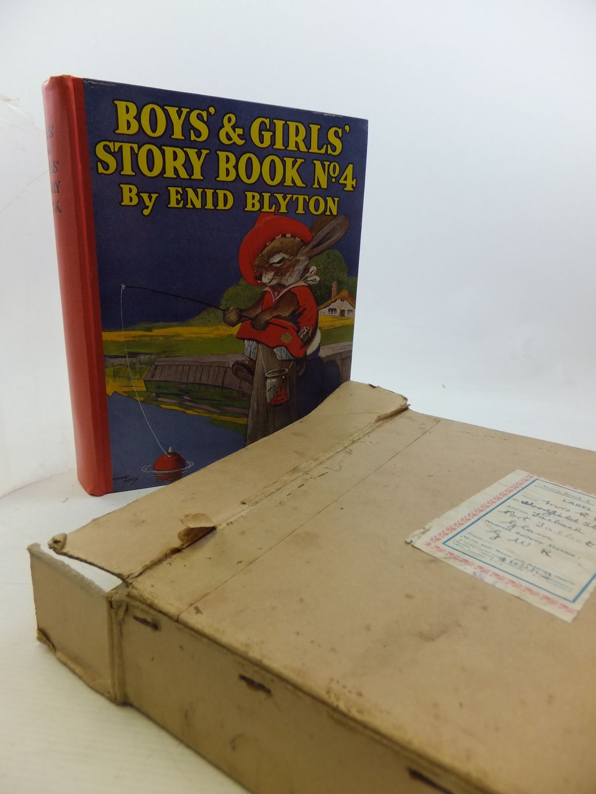 Photo of BOYS' AND GIRLS' STORY BOOK NO. 4- Stock Number: 2114455
