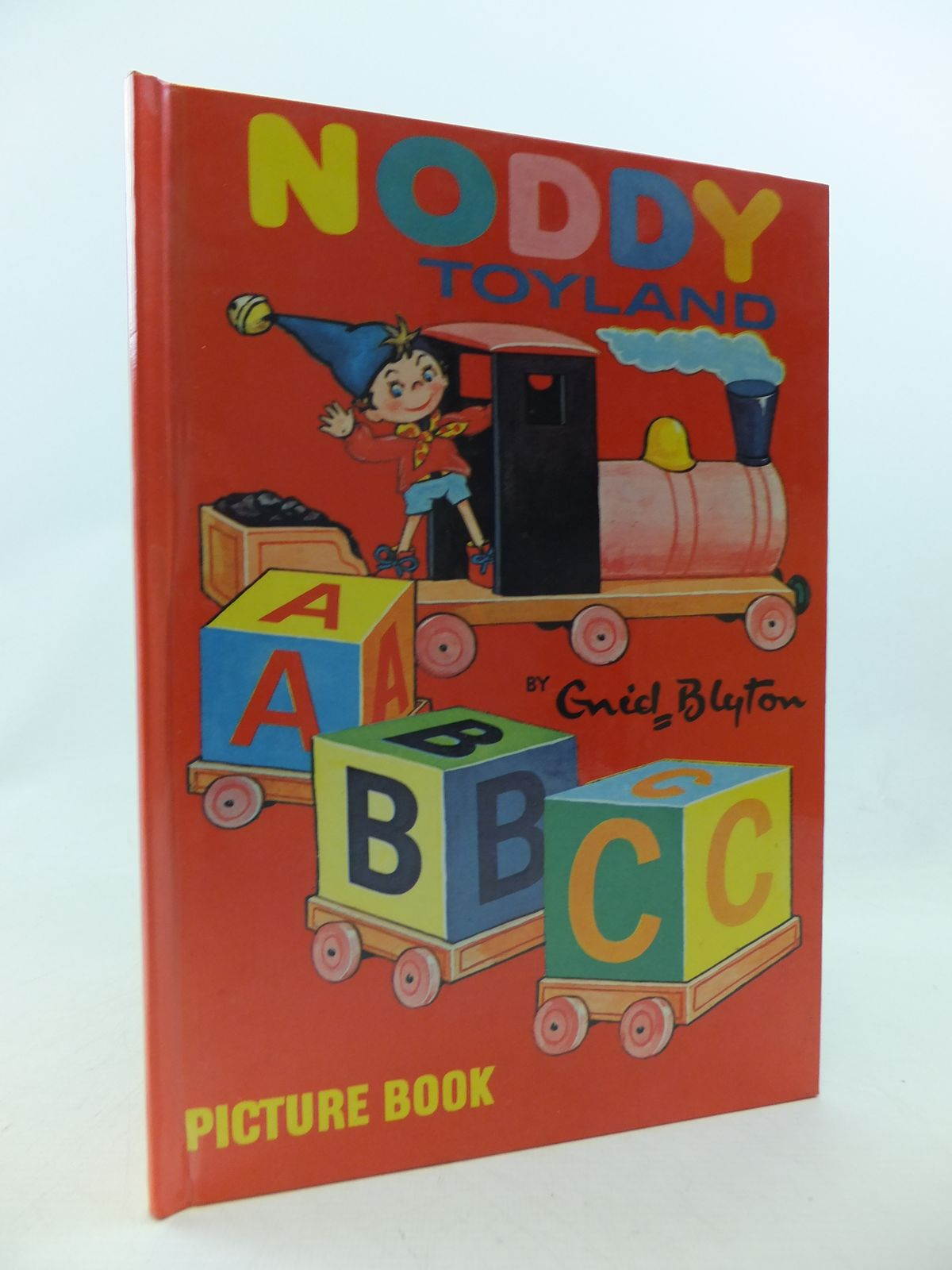 Photo of NODDY TOYLAND ABC PICTURE BOOK written by Blyton, Enid published by Sampson Low, Marston, Dennis Dobson Ltd. (STOCK CODE: 2114460)  for sale by Stella & Rose's Books