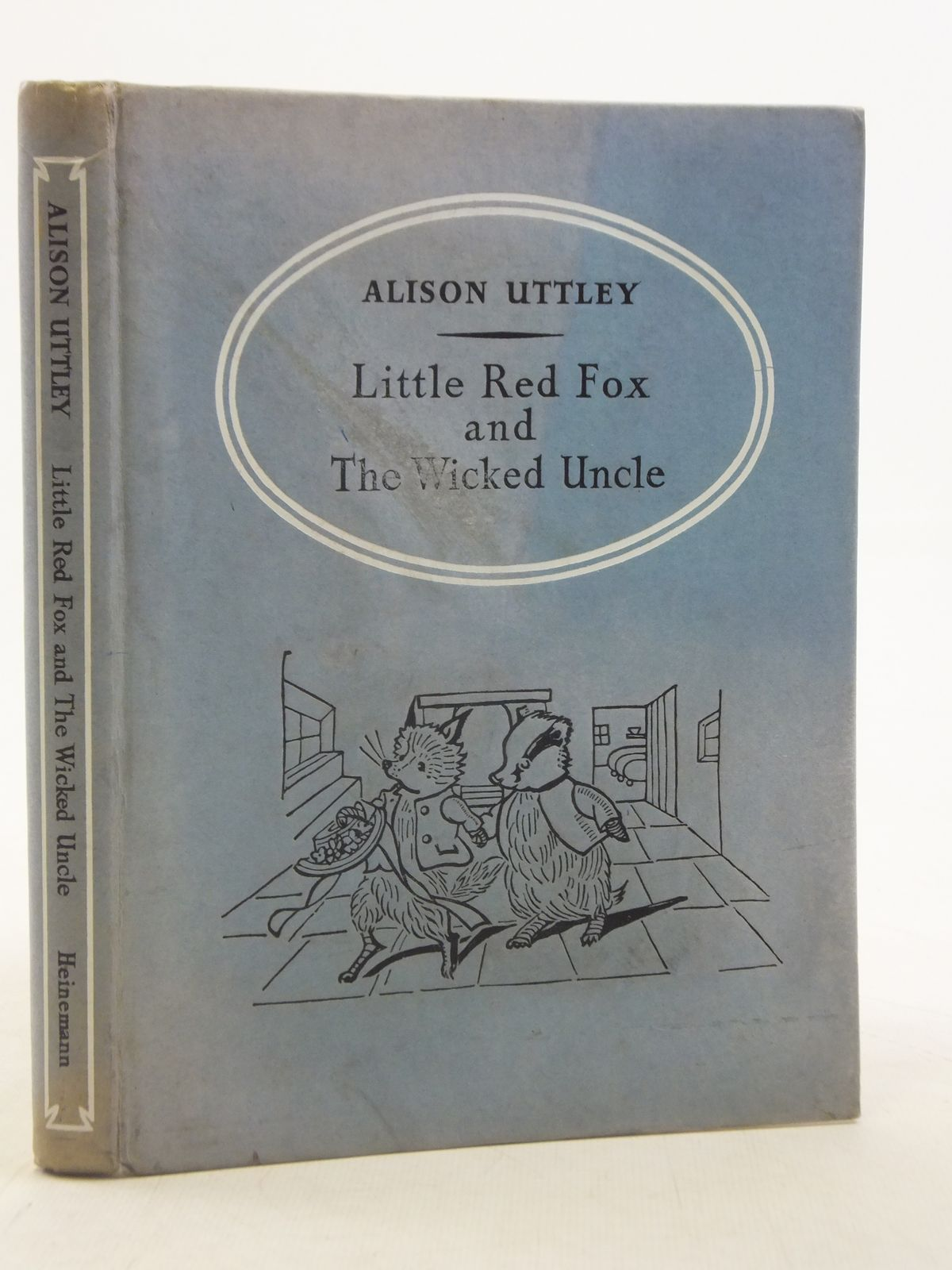 Photo of LITTLE RED FOX AND THE WICKED UNCLE written by Uttley, Alison illustrated by Wigglesworth, Katherine published by William Heinemann Ltd. (STOCK CODE: 2114865)  for sale by Stella & Rose's Books