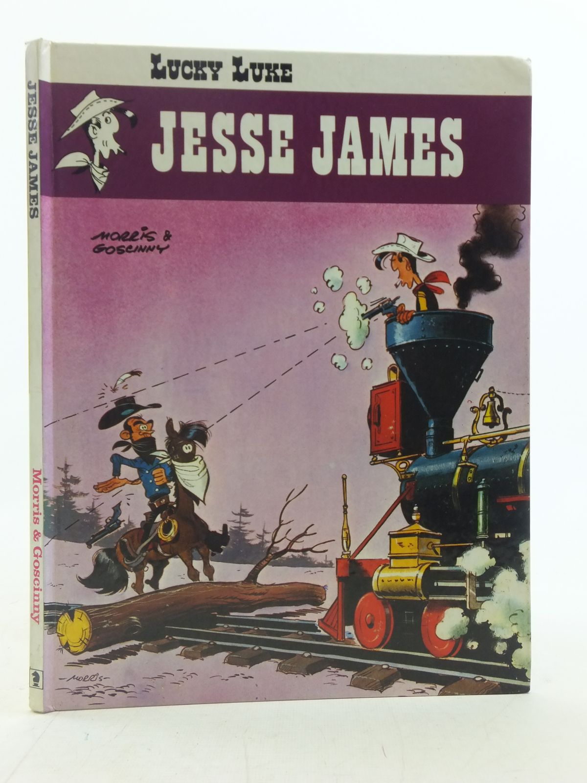 Photo of LUCKY LUKE JESSE JAMES written by Goscinny, Rene illustrated by Morris,  published by Brockhampton Press (STOCK CODE: 2114870)  for sale by Stella & Rose's Books