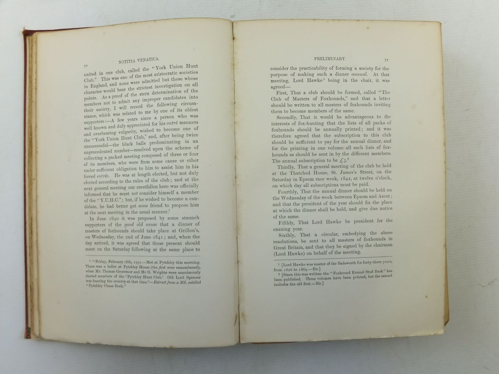 Photo of NOTITIA VENATICA A TREATISE ON FOX-HUNTING written by Vyner, Robert T. Blew, William C.A. illustrated by Aiken, Henry et al., published by John C. Nimmo (STOCK CODE: 2114975)  for sale by Stella & Rose's Books